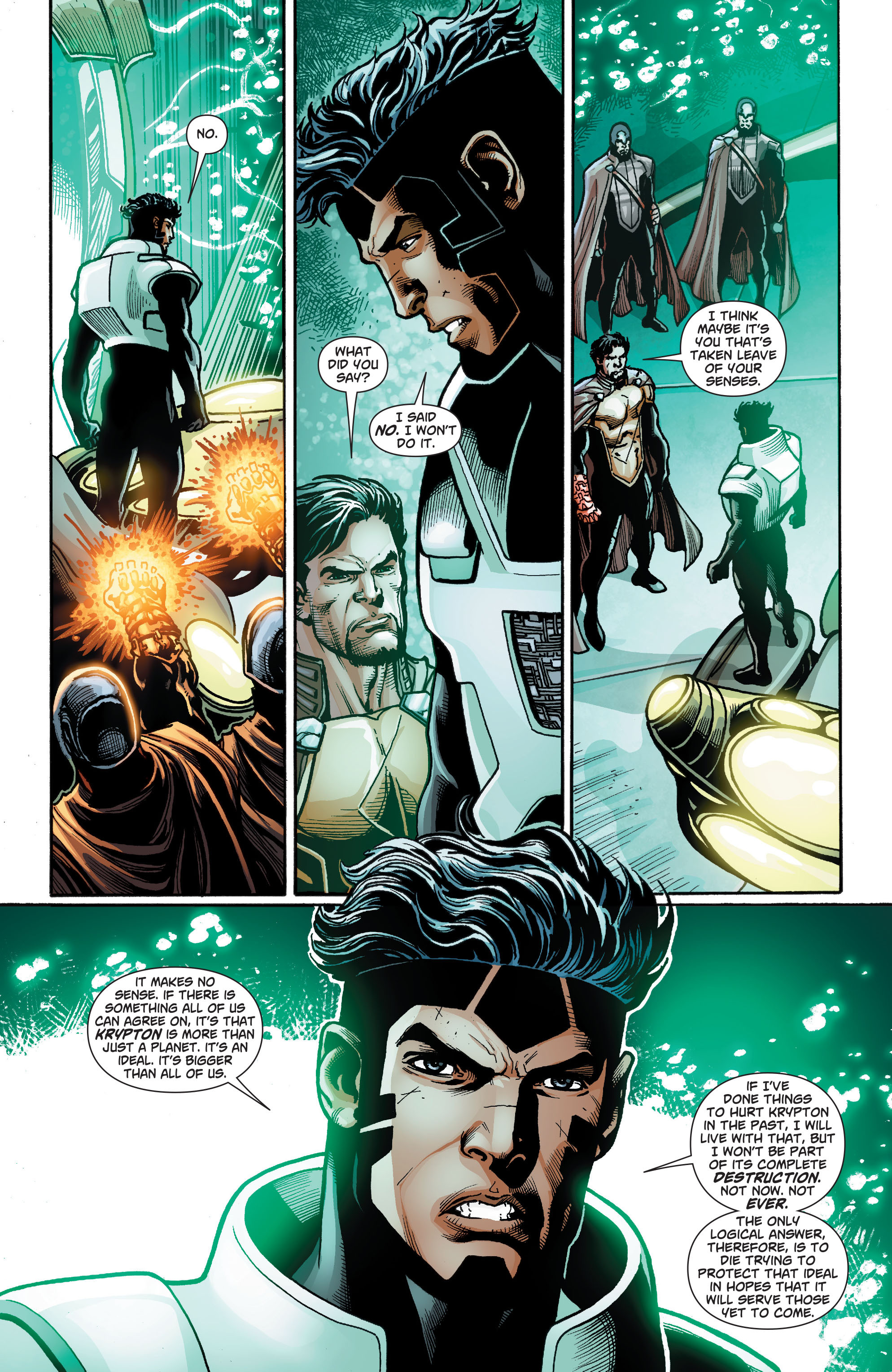 Read online Action Comics (2011) comic -  Issue #23 - 19