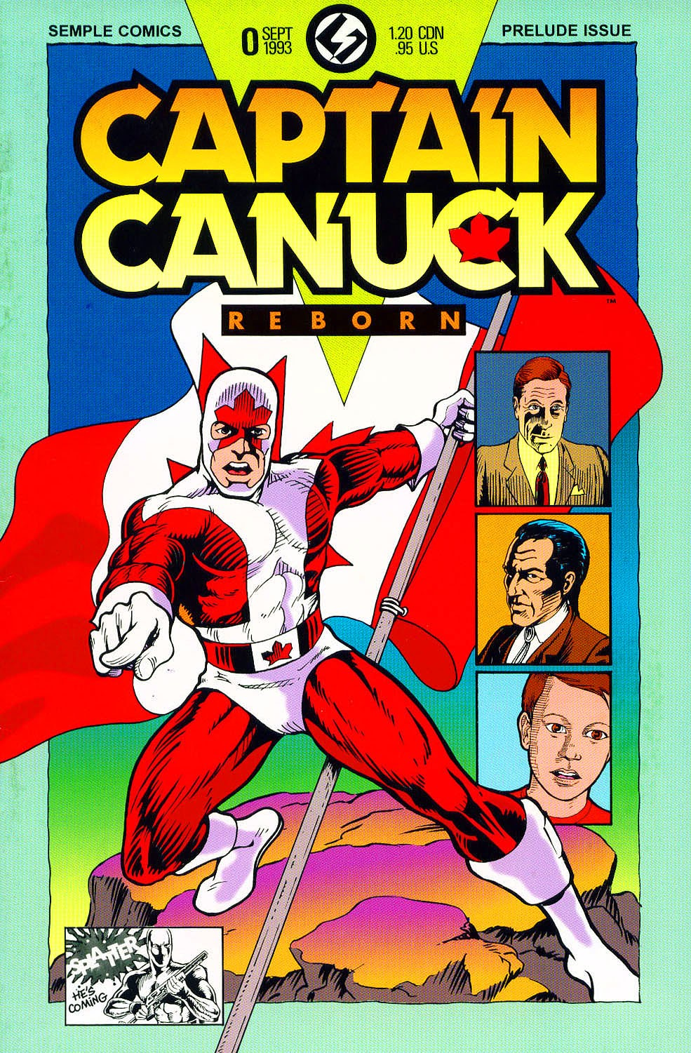 Captain Canuck Reborn 0 Page 1
