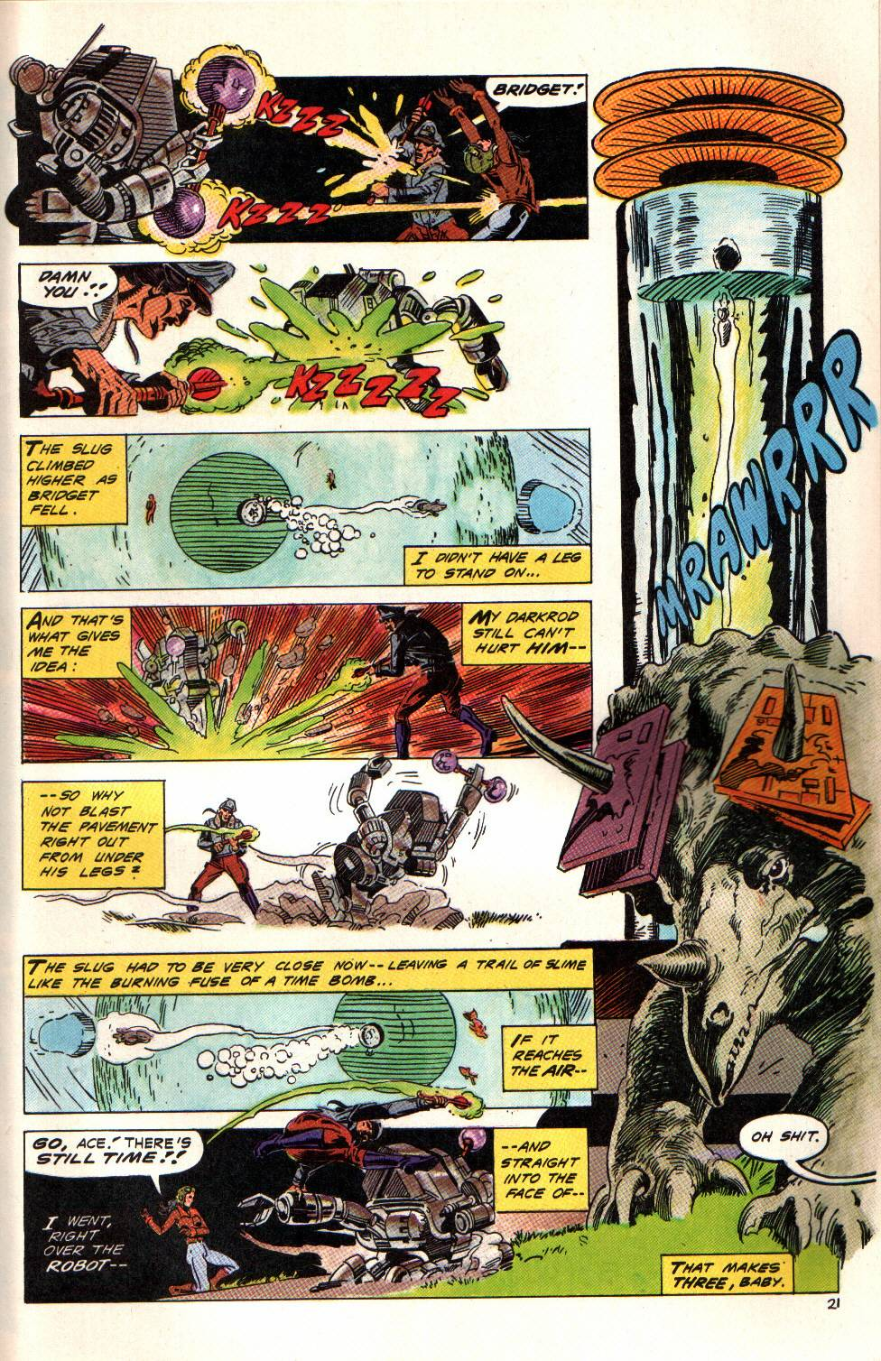 Read online Aztec Ace comic -  Issue #6 - 21
