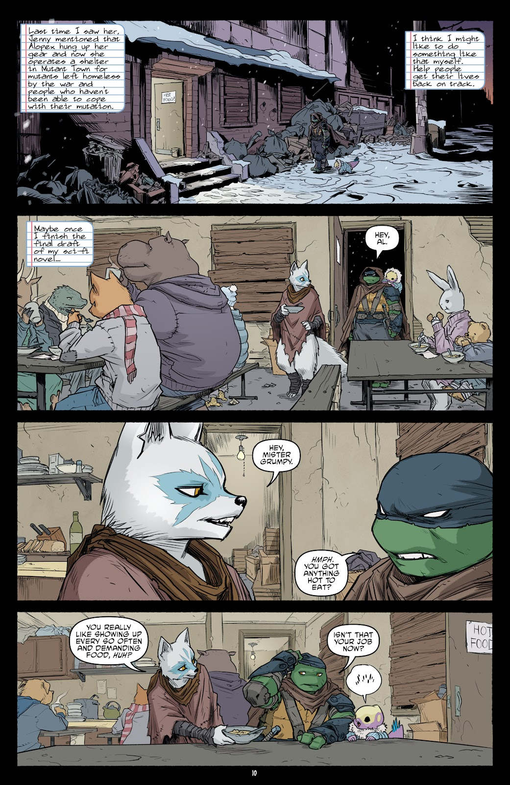 Read online Teenage Mutant Ninja Turtles (2011) comic -  Issue #101 - 12