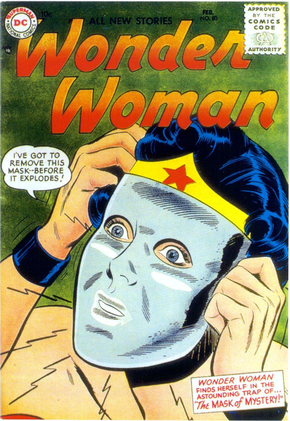 Read online Wonder Woman (1942) comic -  Issue #80 - 1