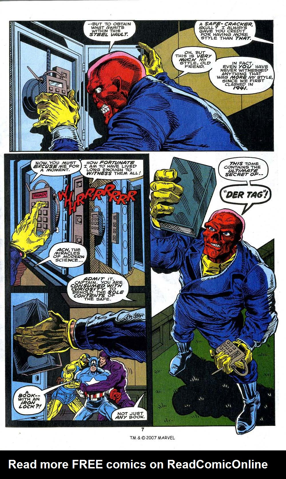Read online Captain America (1968) comic -  Issue # _Annual 13 - 9