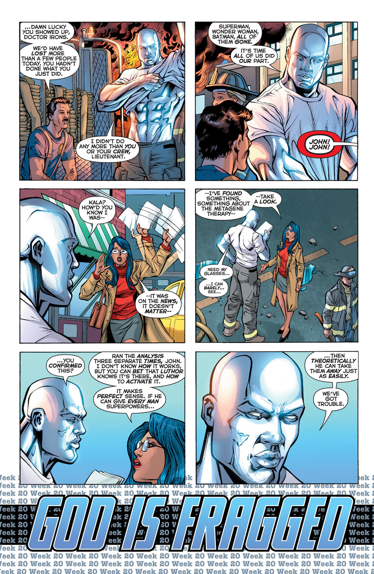 Read online 52 comic -  Issue #20 - 8