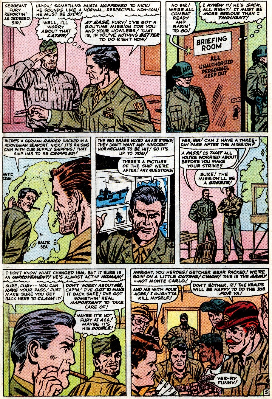 Sgt. Fury issue _Special_6 - Page 17