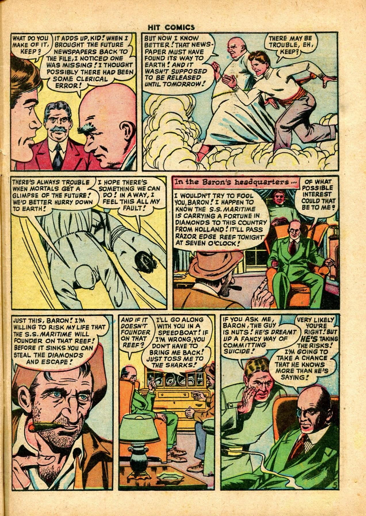 Read online Hit Comics comic -  Issue #59 - 7