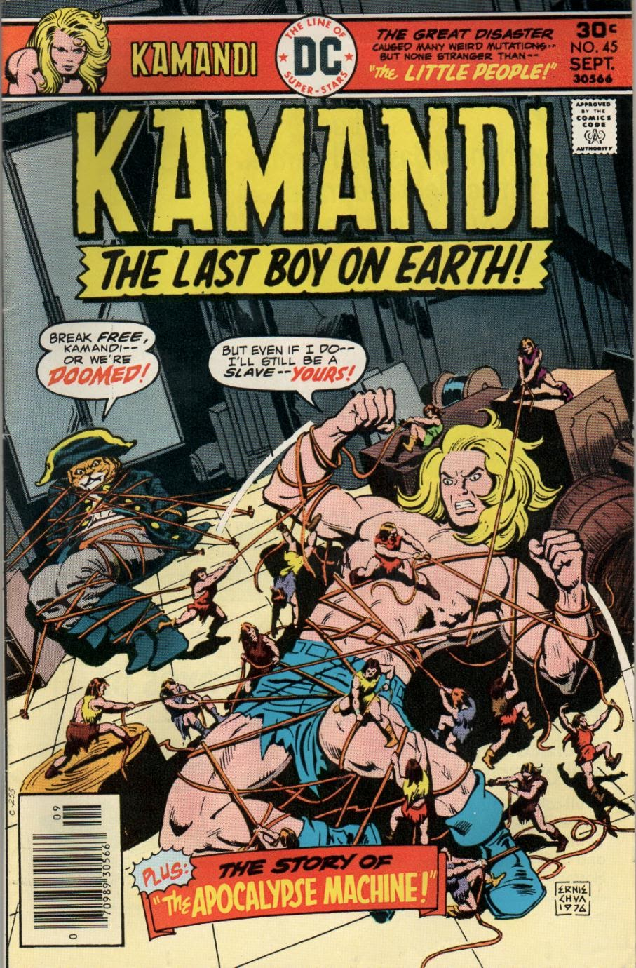 Kamandi, The Last Boy On Earth issue 45 - Page 1