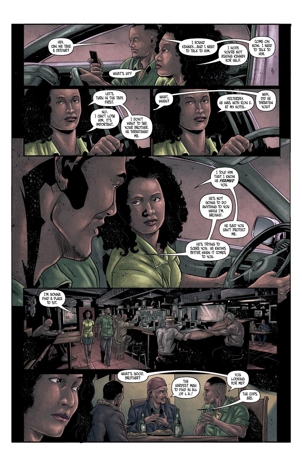 Read online Vindication comic -  Issue #4 - 17