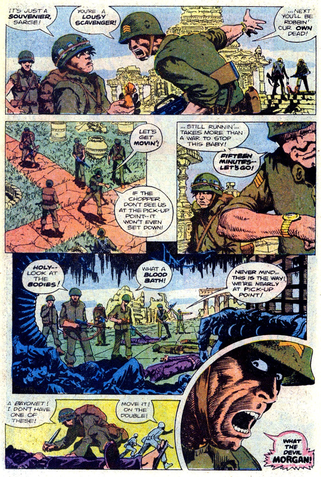 Read online Sgt. Rock comic -  Issue #339 - 16