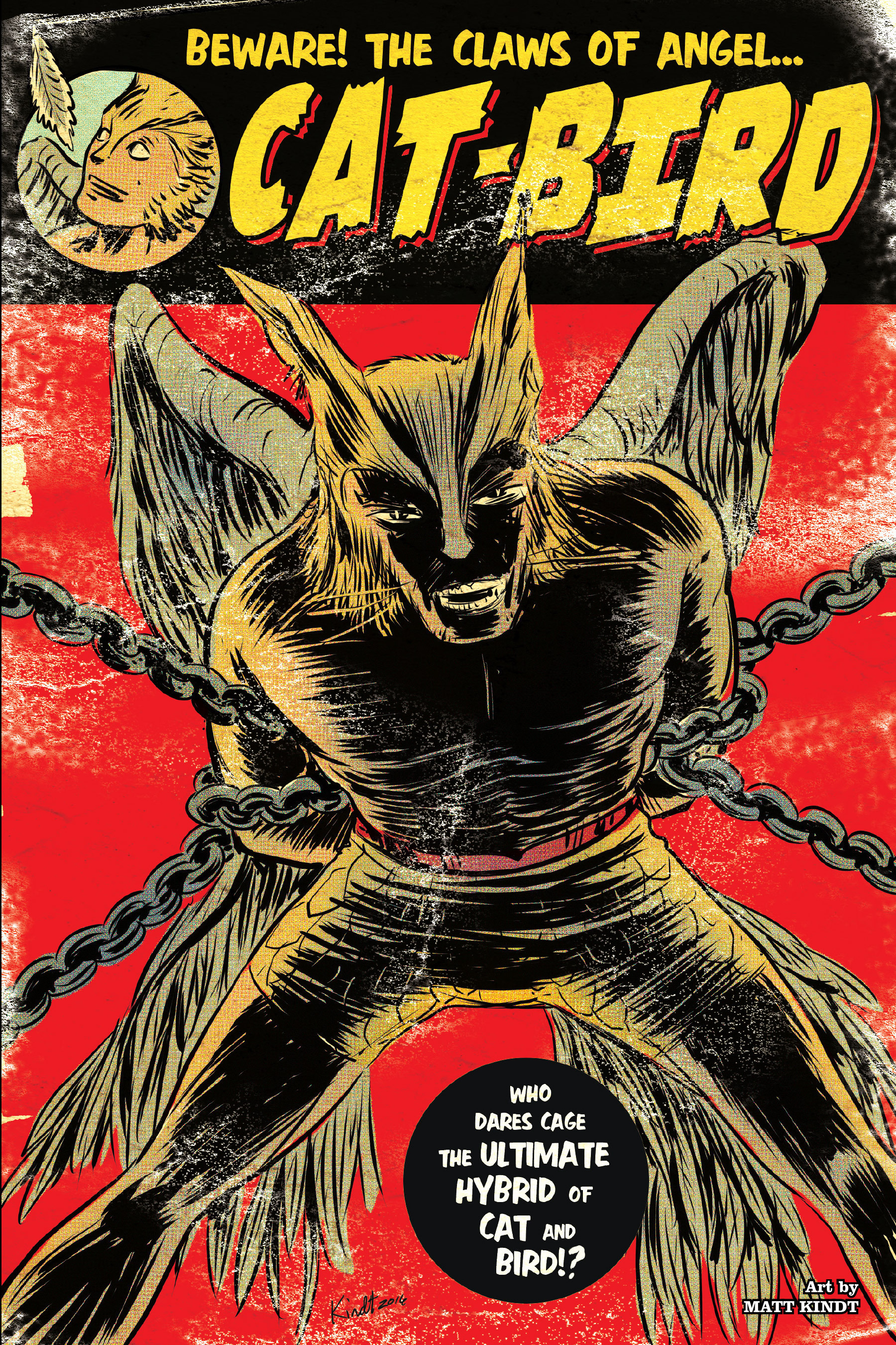 Read online Angel Catbird comic -  Issue # TPB 1 - 89
