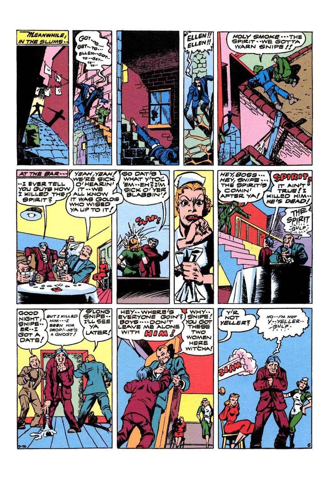 Read online Will Eisner's The Spirit Archives comic -  Issue # TPB 3 (Part 2) - 3