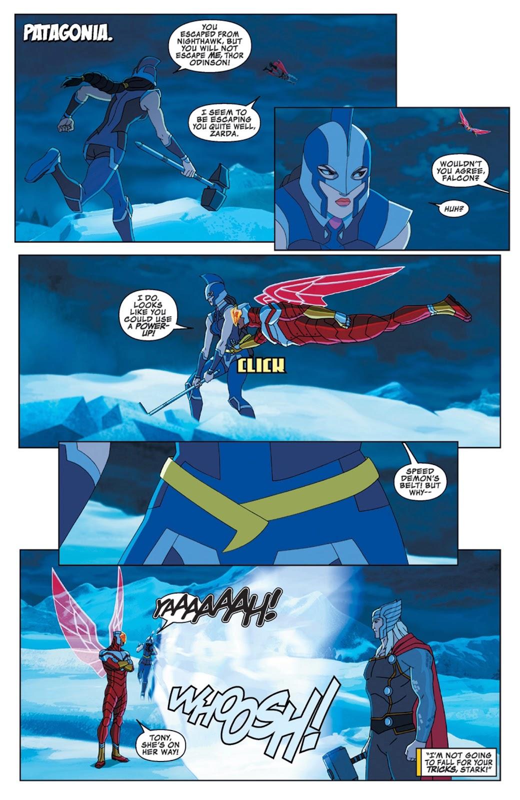 Read online Marvel Universe Avengers Assemble Season 2 comic -  Issue #14 - 12