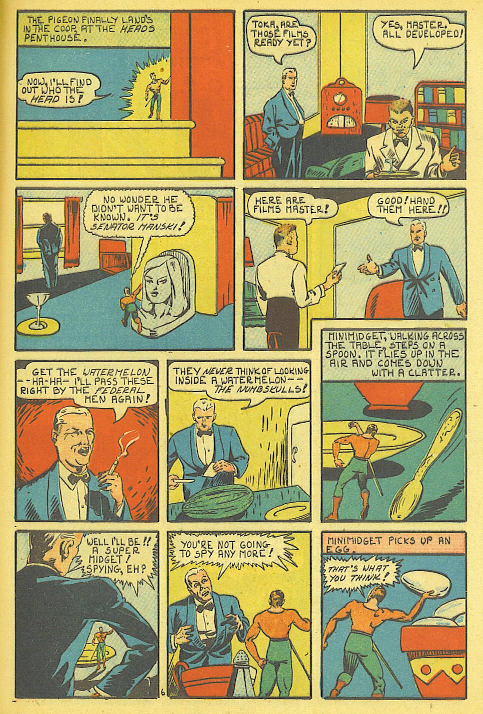Read online Amazing Man Comics comic -  Issue #19 - 63