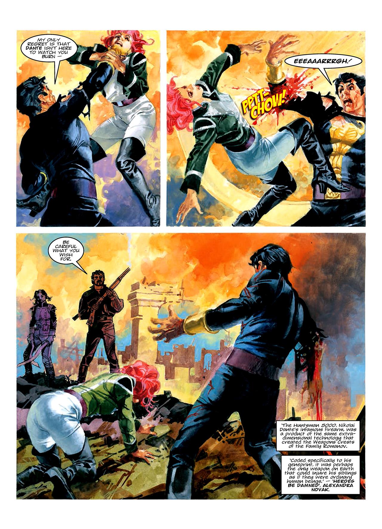 Read online Nikolai Dante comic -  Issue # TPB 10 - 73