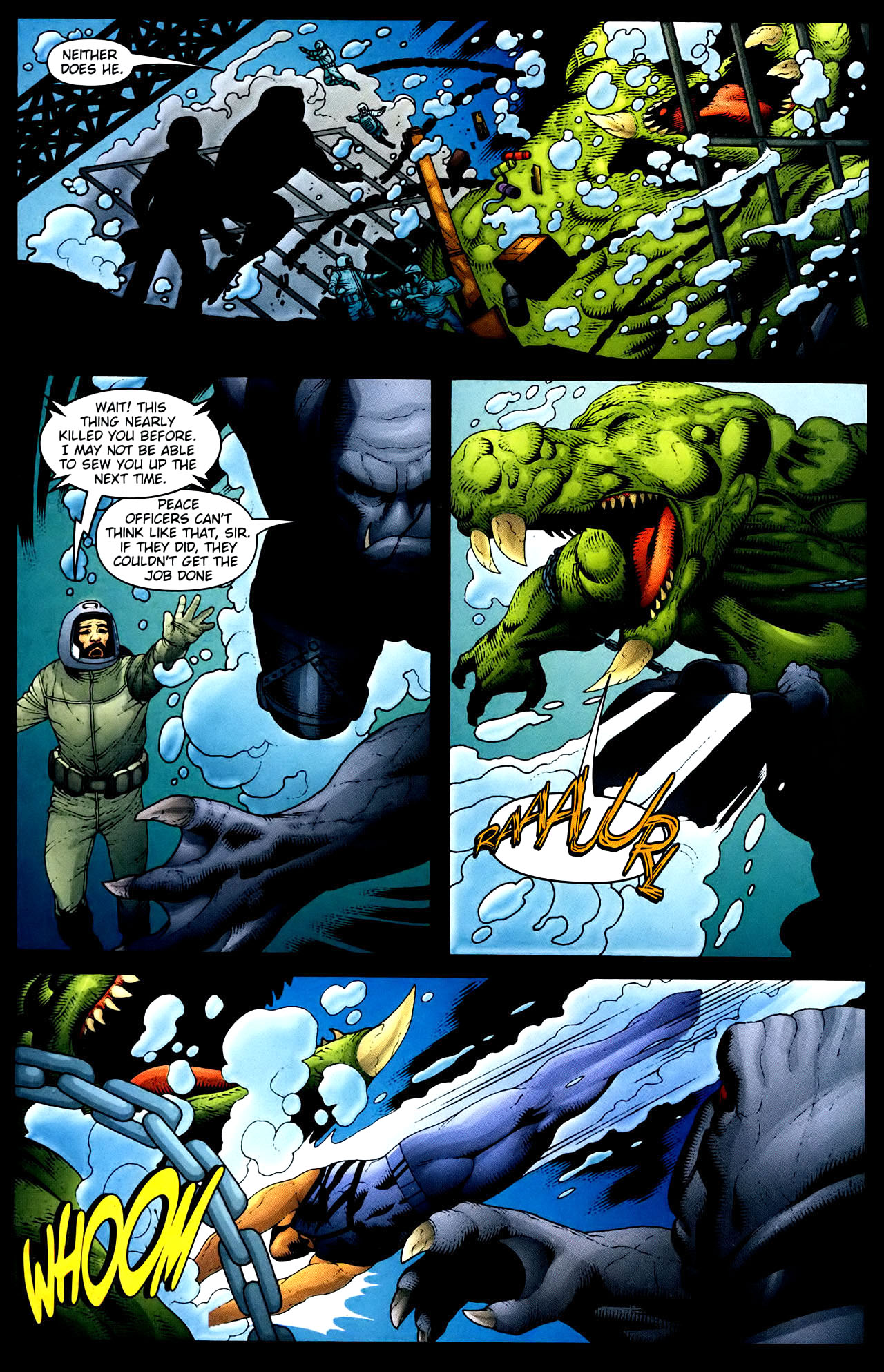 Read online Aquaman (2003) comic -  Issue #34 - 16