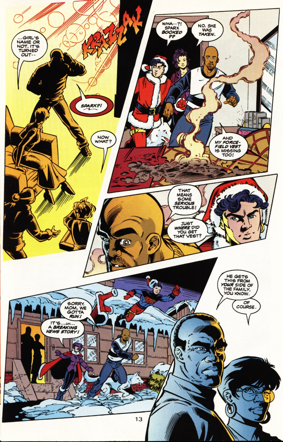 Read online Superboy & The Ravers comic -  Issue #5 - 14