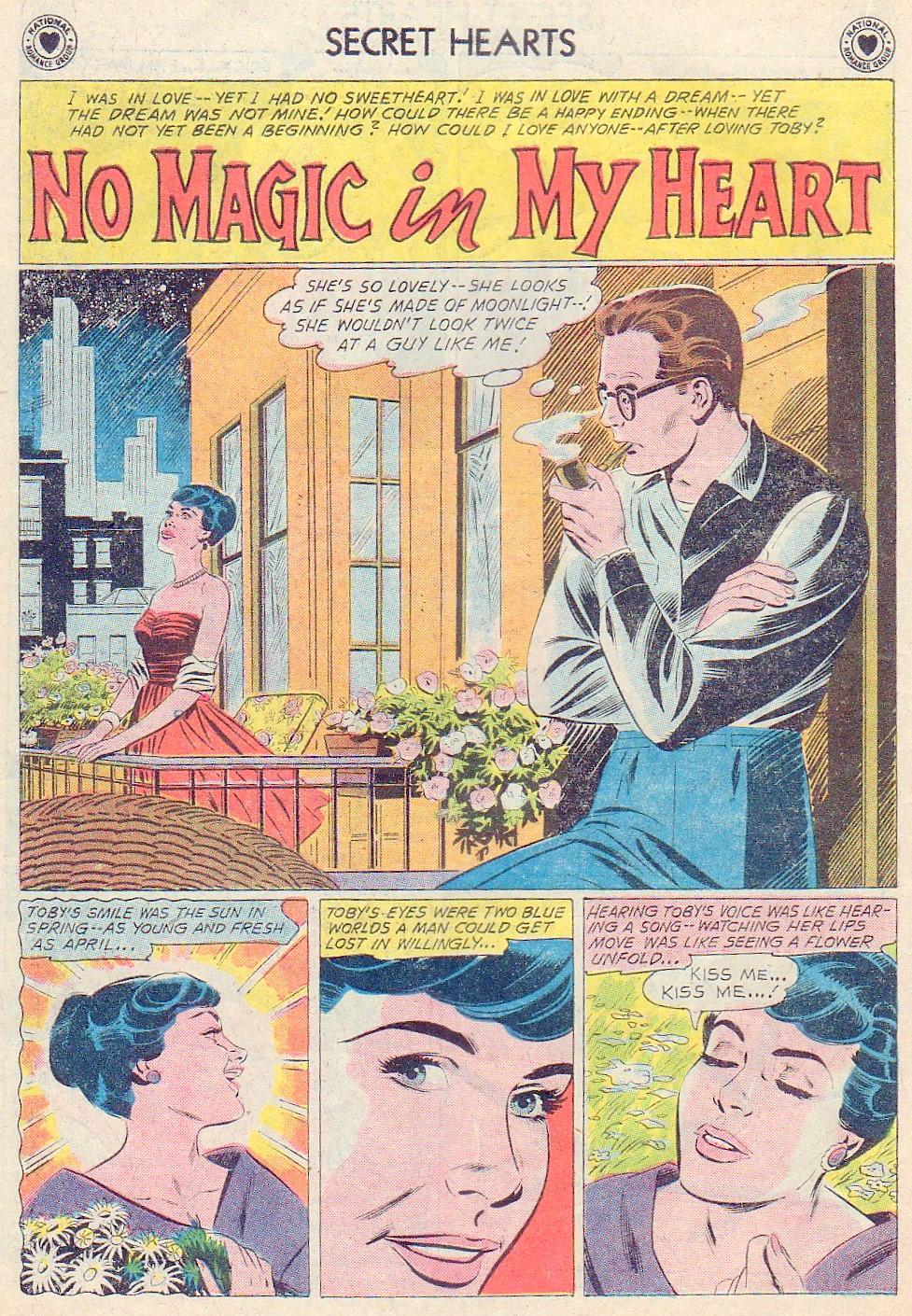 Read online Secret Hearts comic -  Issue #72 - 18