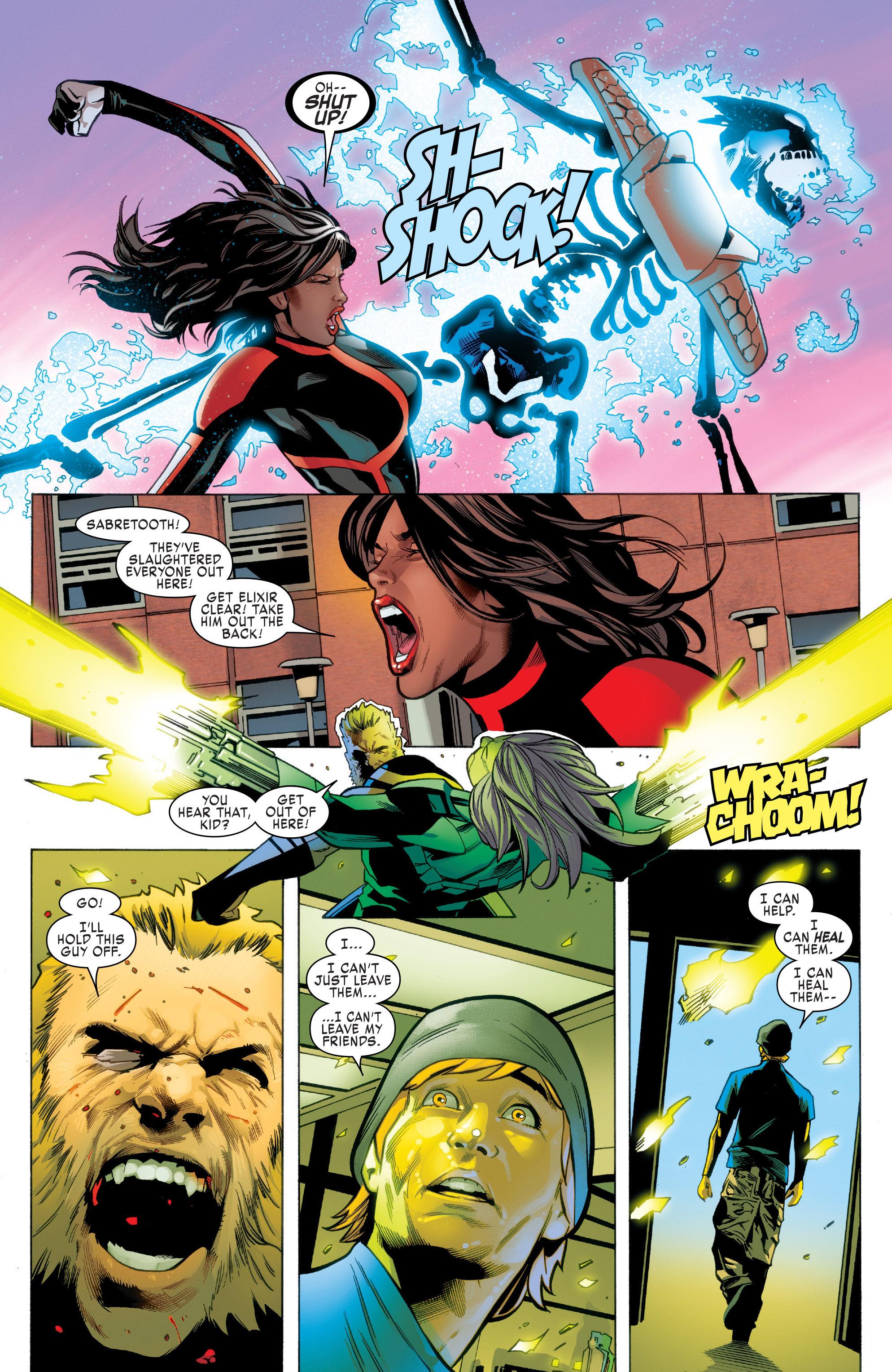 Read online Uncanny X-Men (2016) comic -  Issue #2 - 19