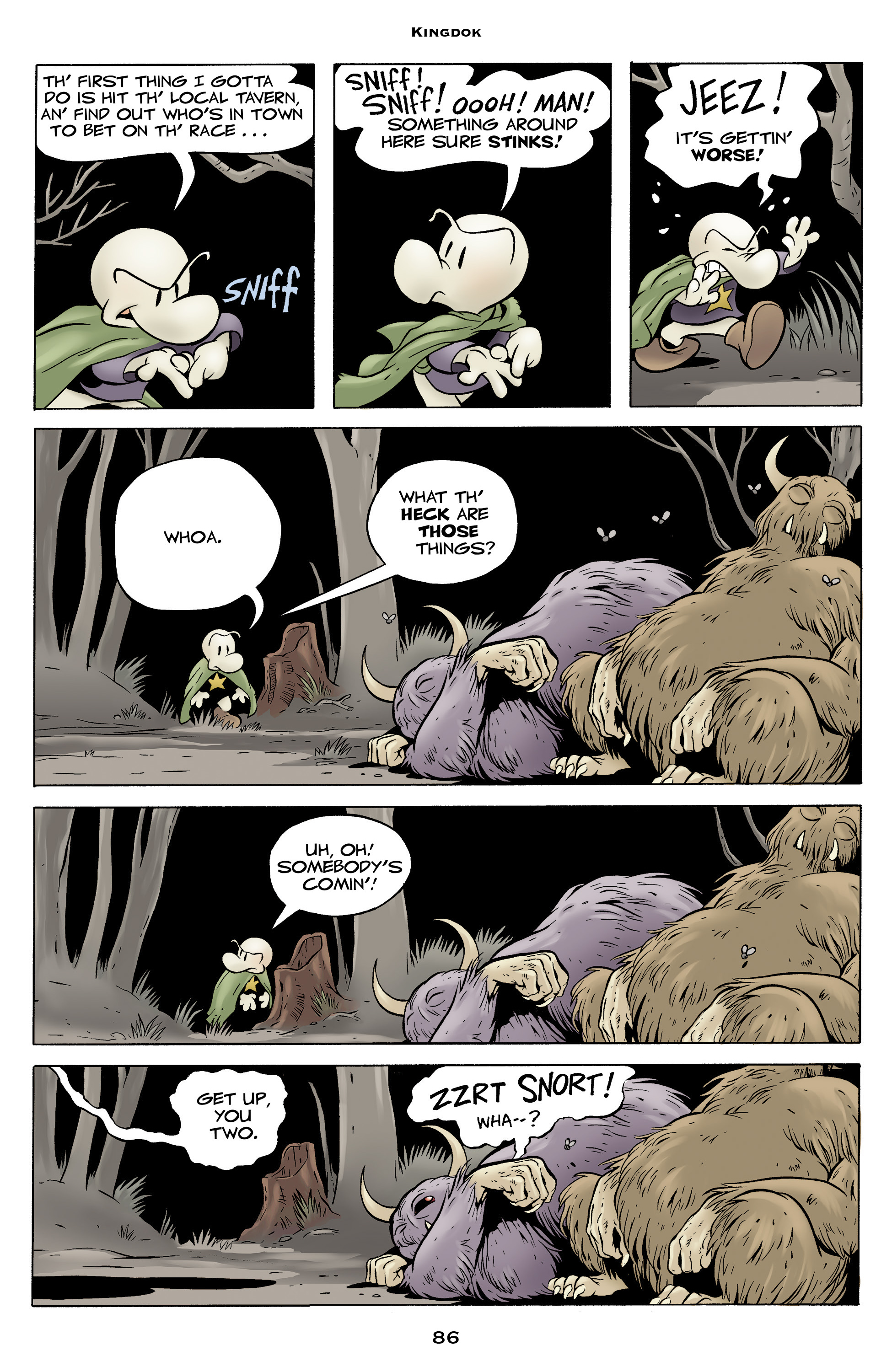 Read online Bone: Out From Boneville comic -  Issue # TPB - 86