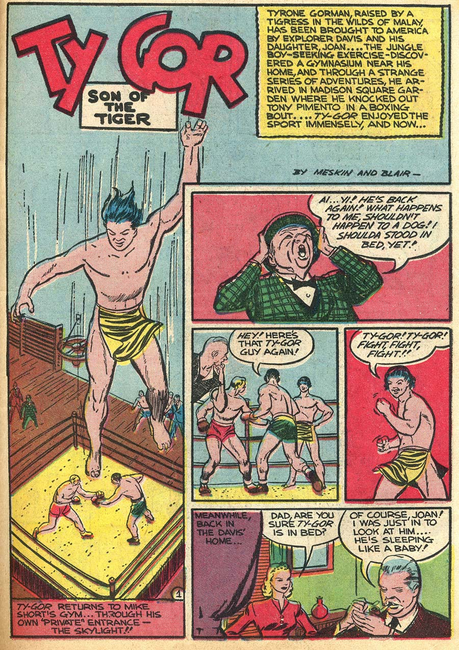 Blue Ribbon Comics (1939) issue 9 - Page 43