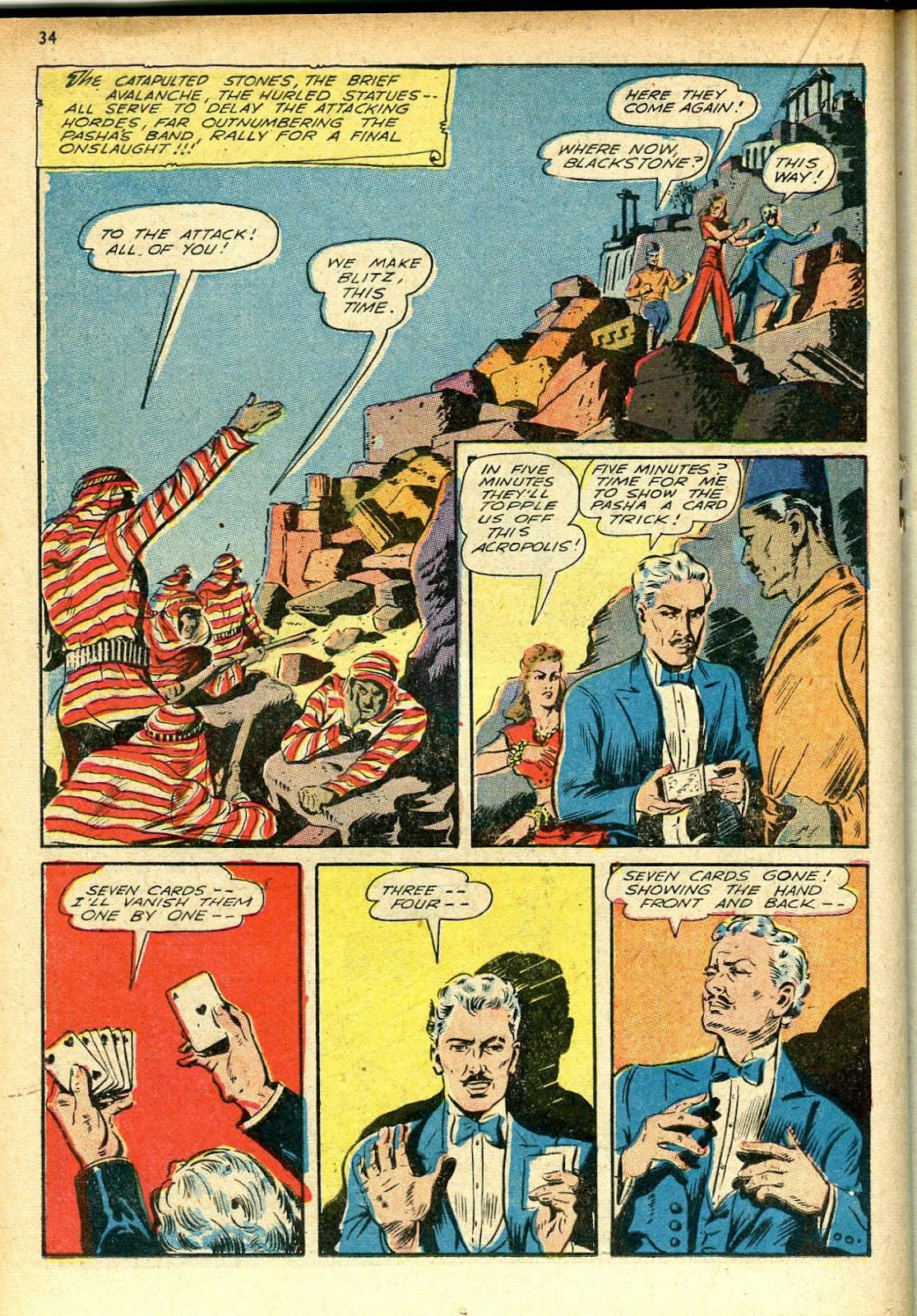 Read online Super-Magician Comics comic -  Issue #12 - 34