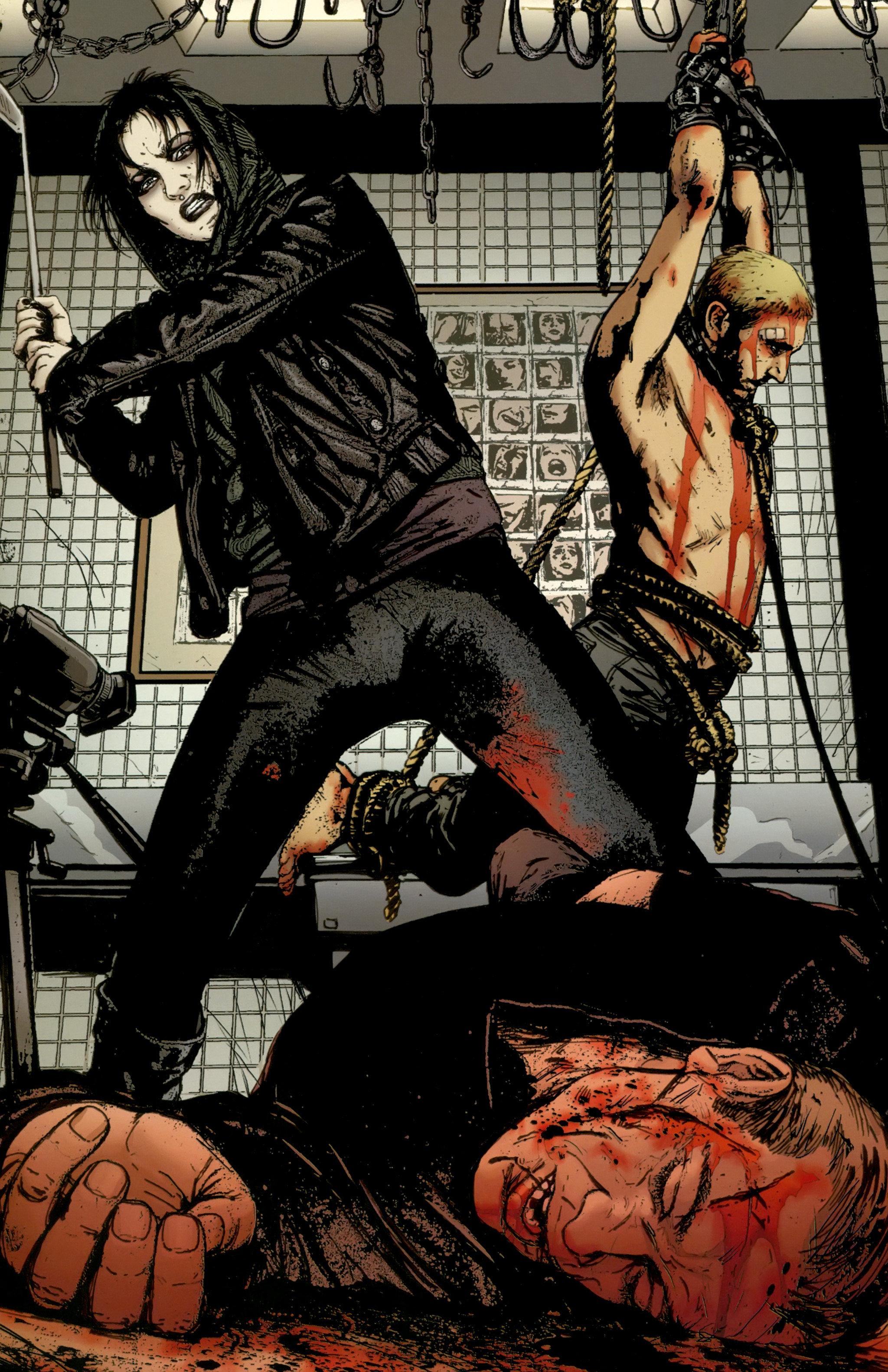 Read online The Girl With the Dragon Tattoo comic -  Issue # TPB 2 - 101