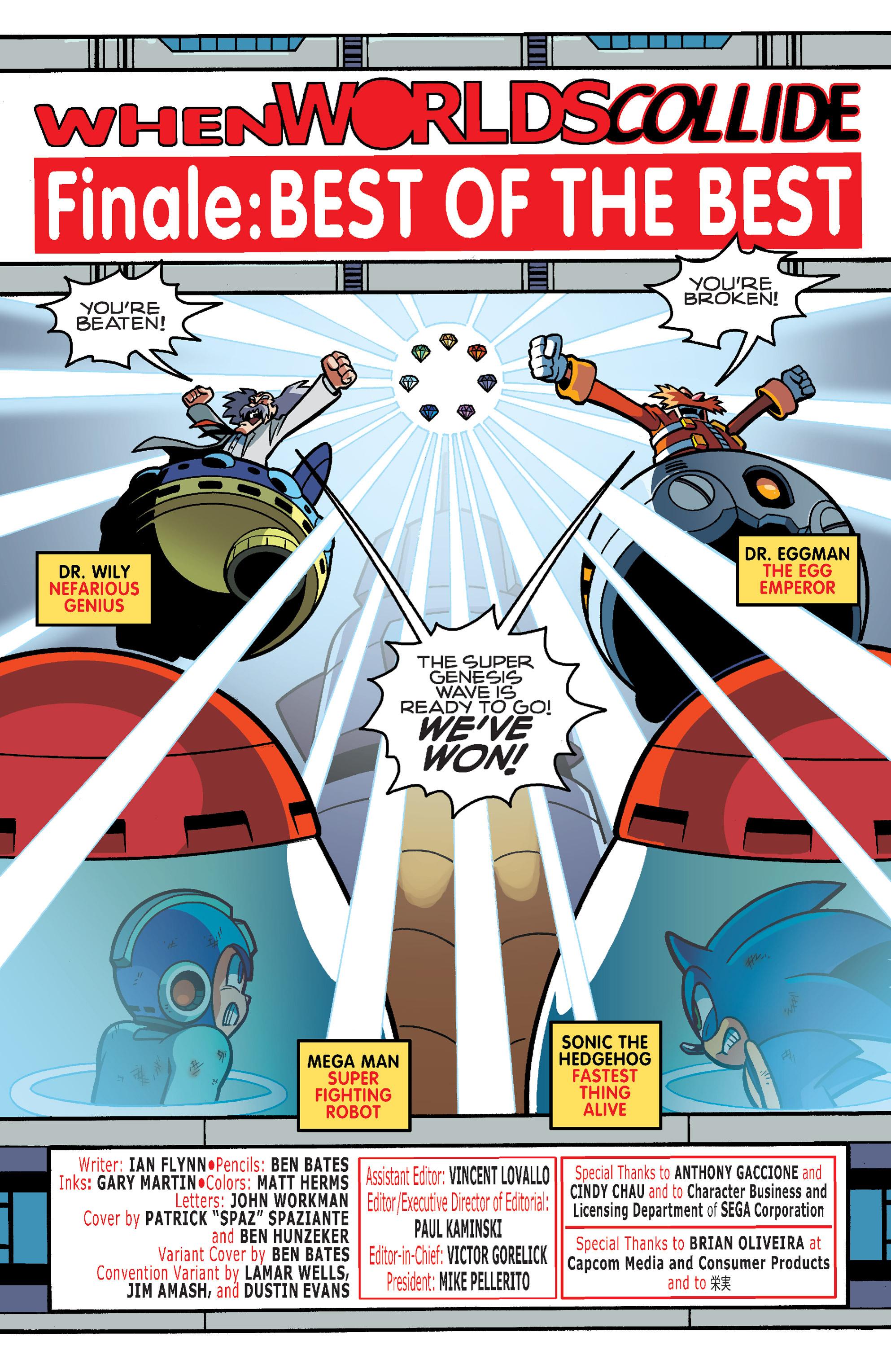 Read online Sonic Mega Man Worlds Collide comic -  Issue # Vol 3 - 96