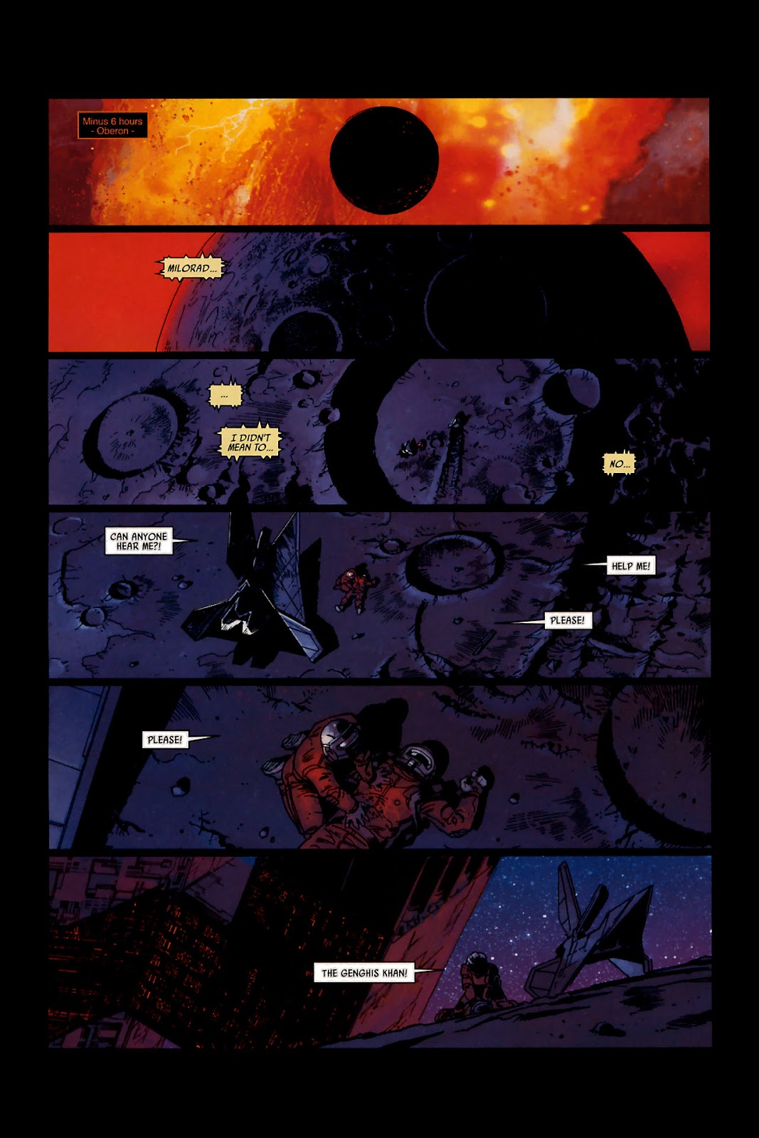 Read online Universal War One: Revelations comic -  Issue #1 - 12