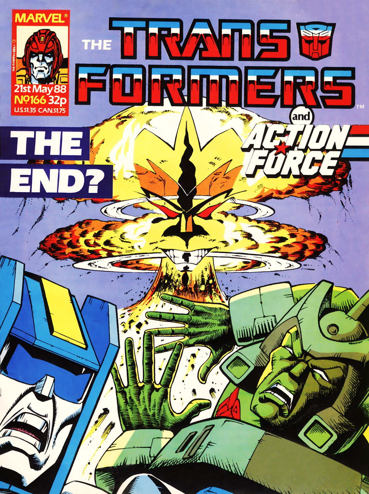 The Transformers (UK) 166 Page 1