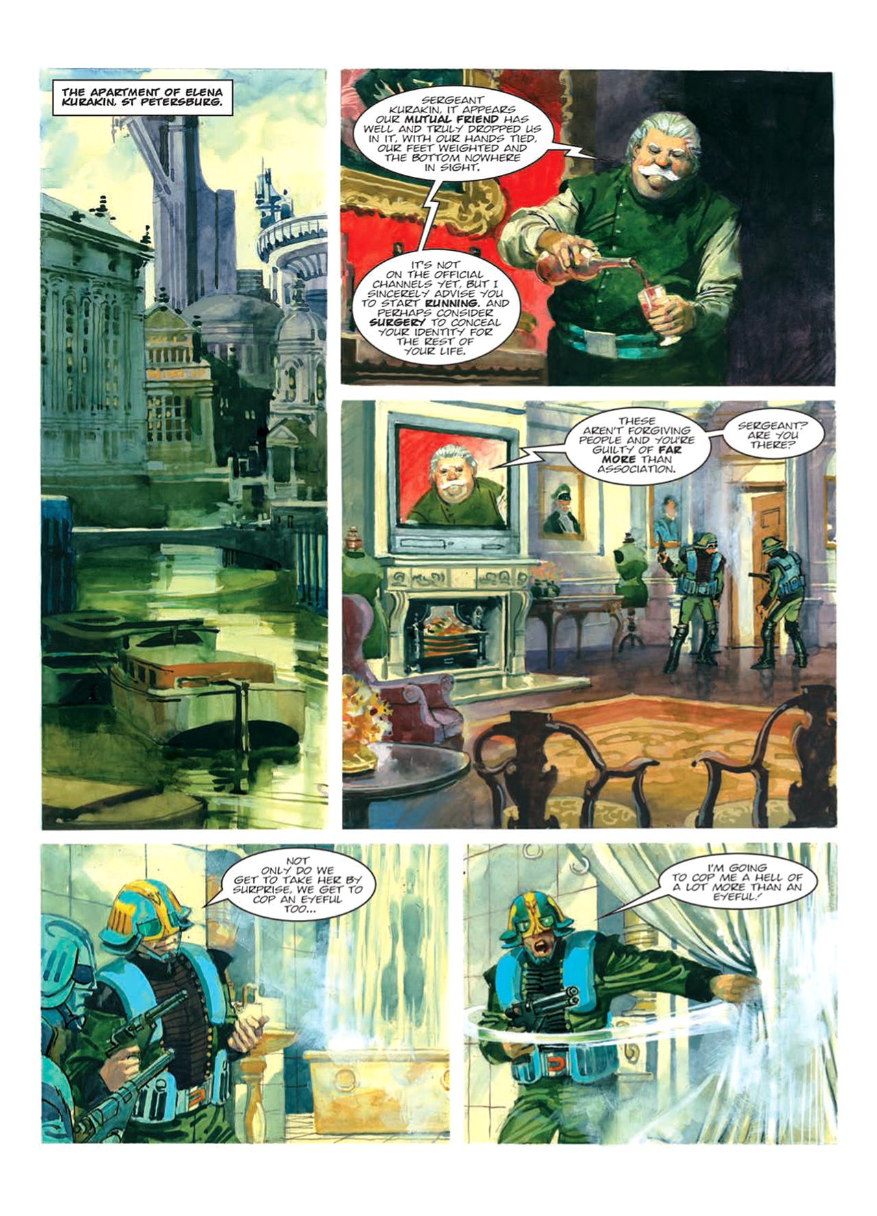 Read online Nikolai Dante comic -  Issue # TPB 9 - 72