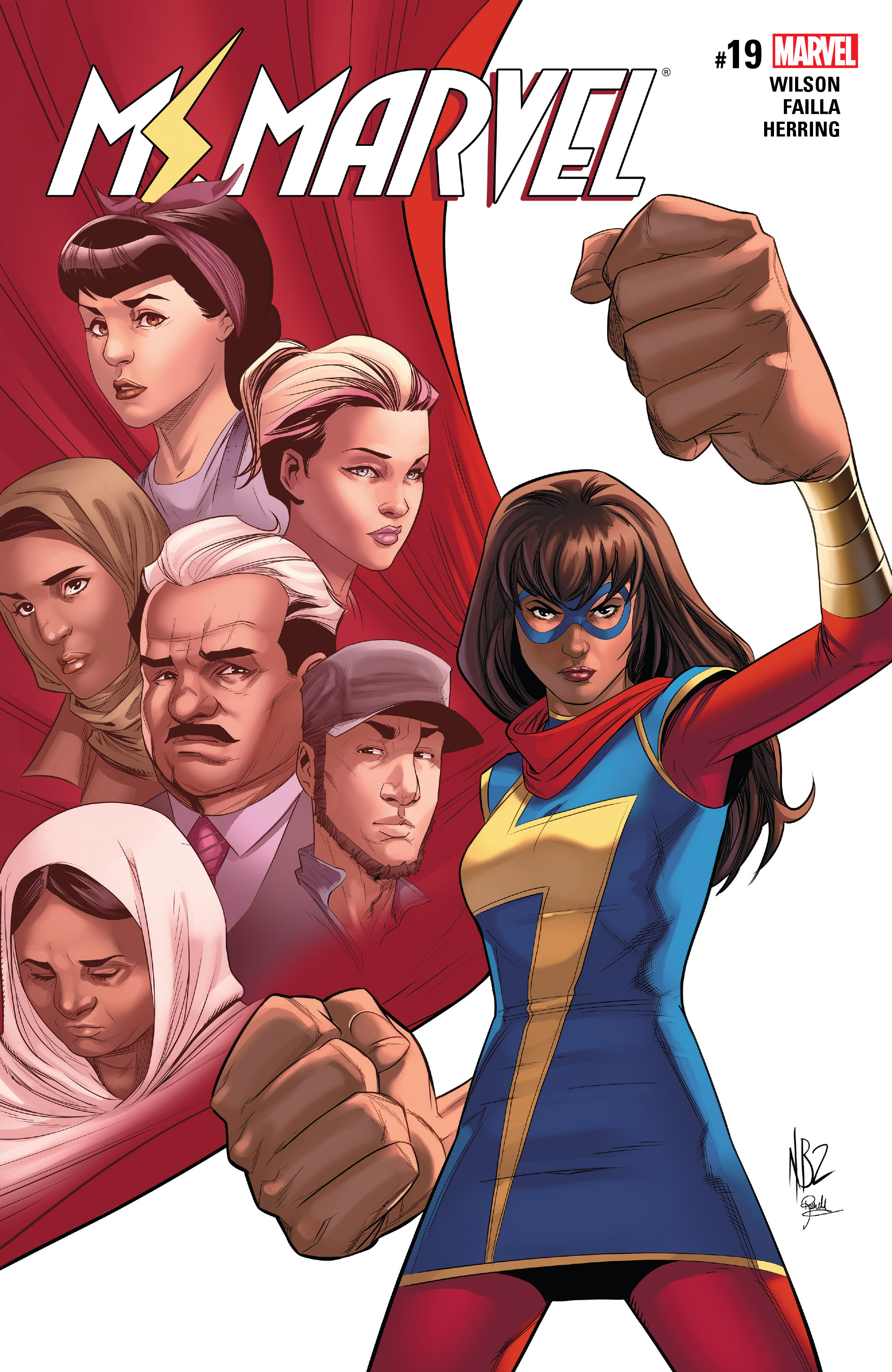 Read online Ms. Marvel (2016) comic -  Issue #19 - 1