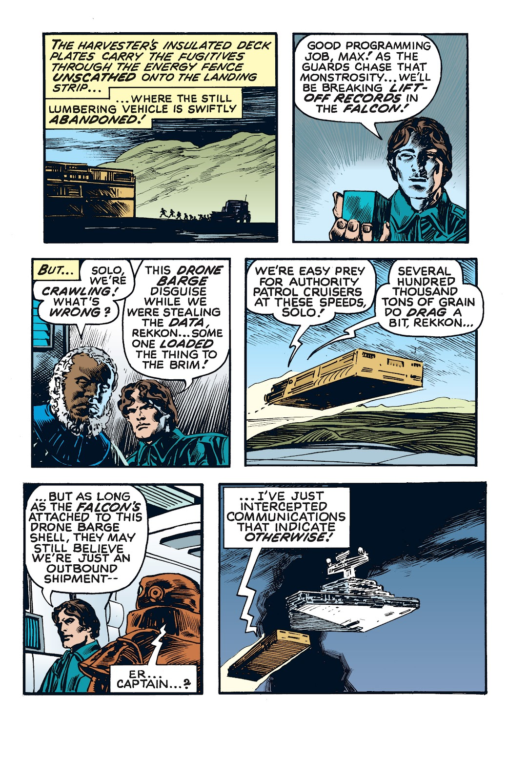 Read online Star Wars Legends: The Newspaper Strips - Epic Collection comic -  Issue # TPB (Part 4) - 38