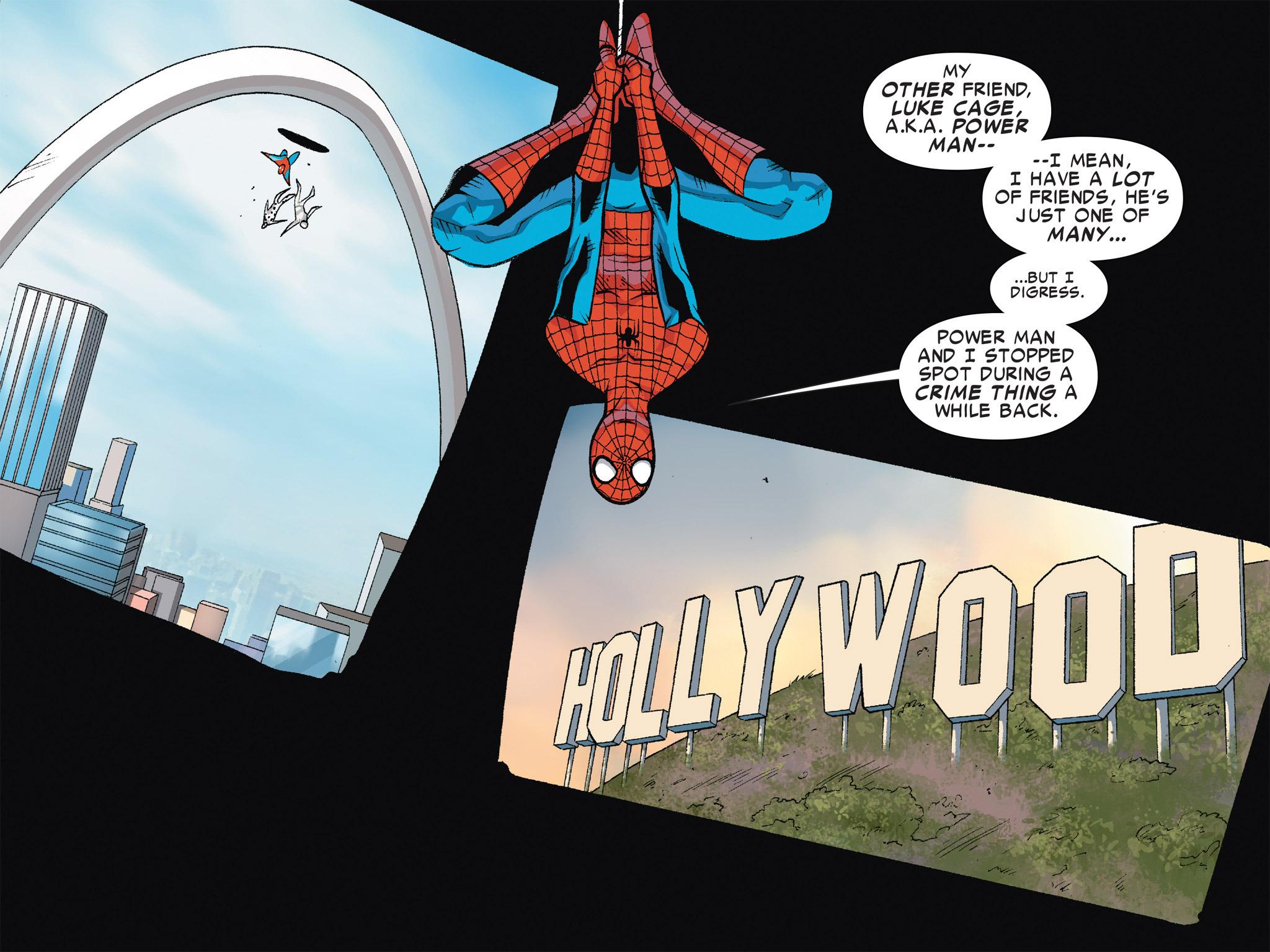 Read online Ultimate Spider-Man (Infinite Comics) (2016) comic -  Issue #6 - 14