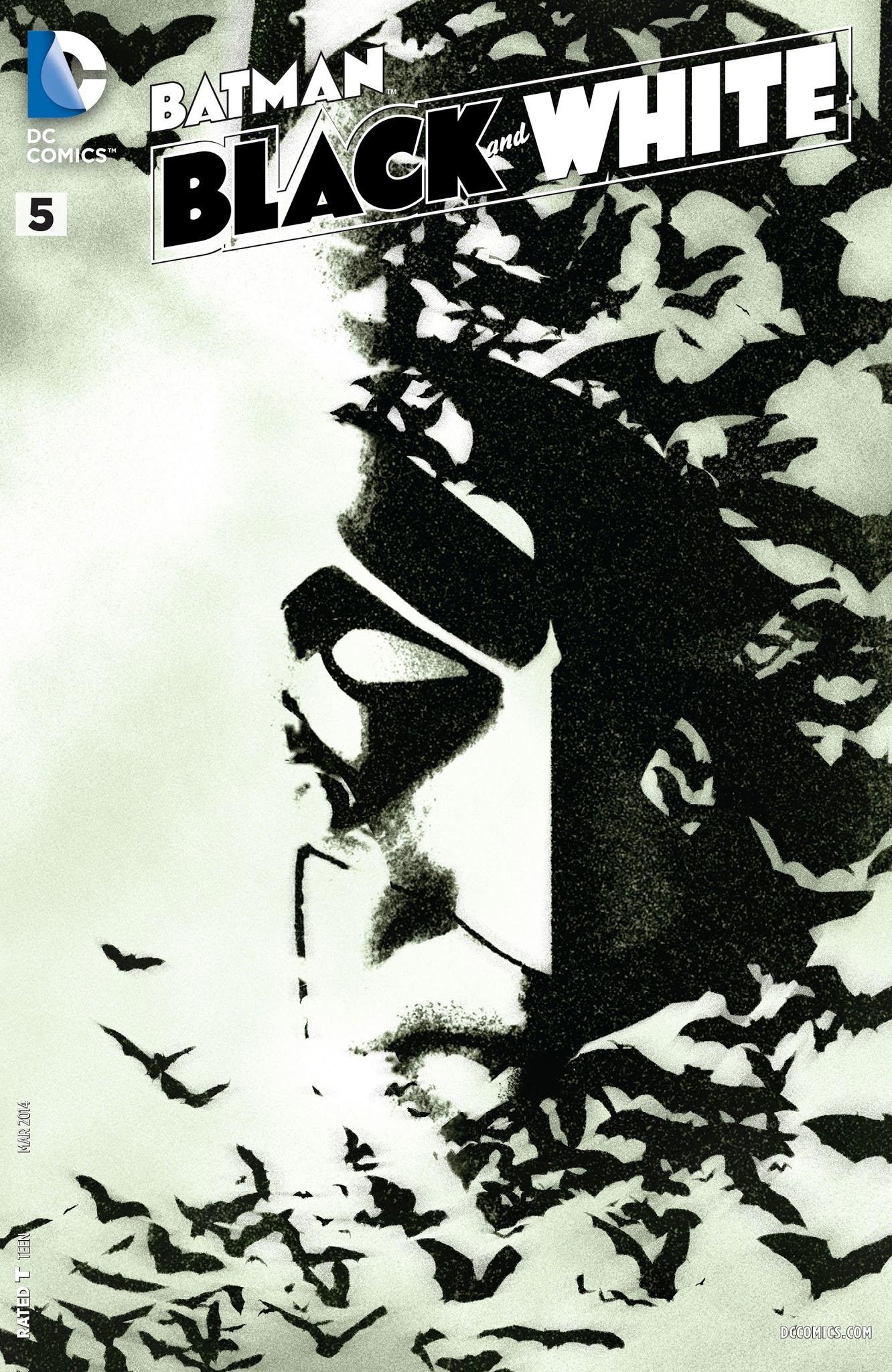 Batman Black and White (2013) 5 Page 1