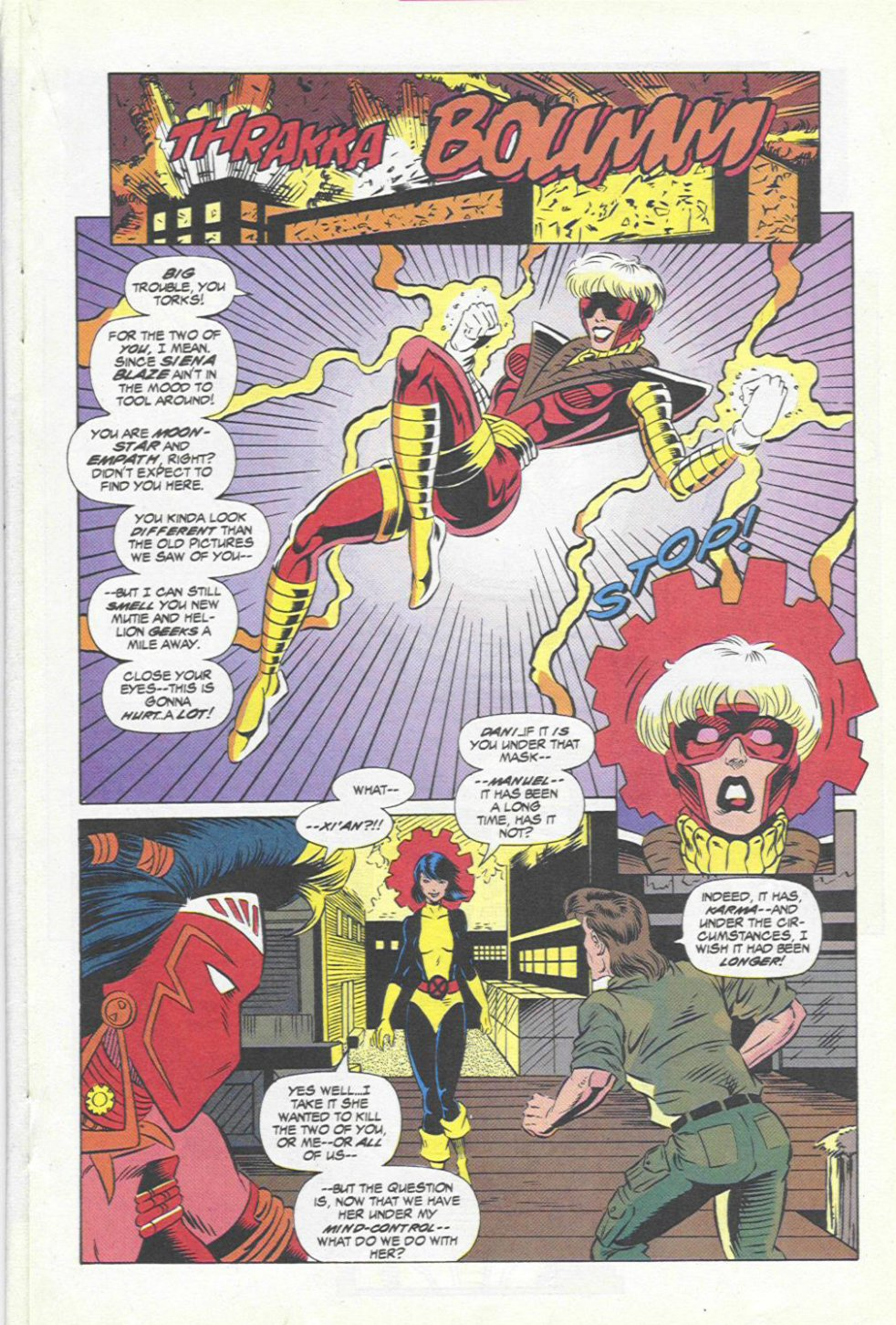 The New Warriors Issue #45 #49 - English 12