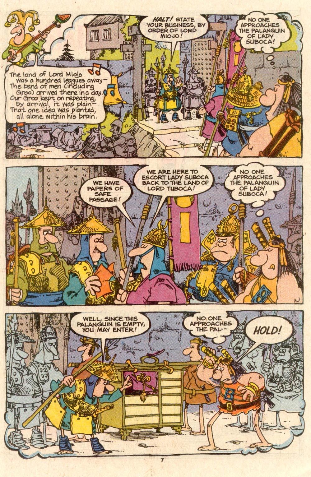 Read online Sergio Aragonés Groo the Wanderer comic -  Issue #56 - 5