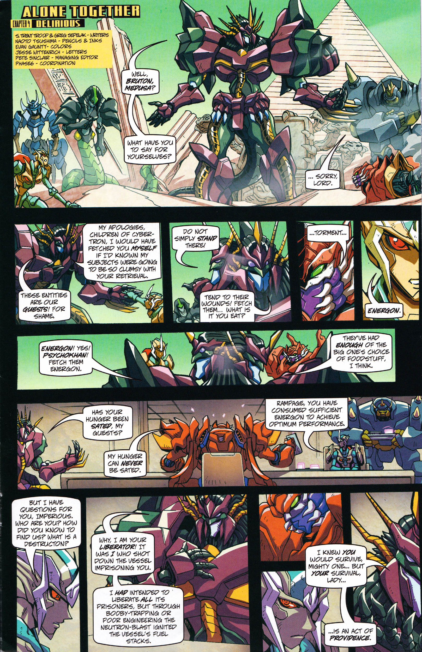 Read online Transformers: Collectors' Club comic -  Issue #59 - 7