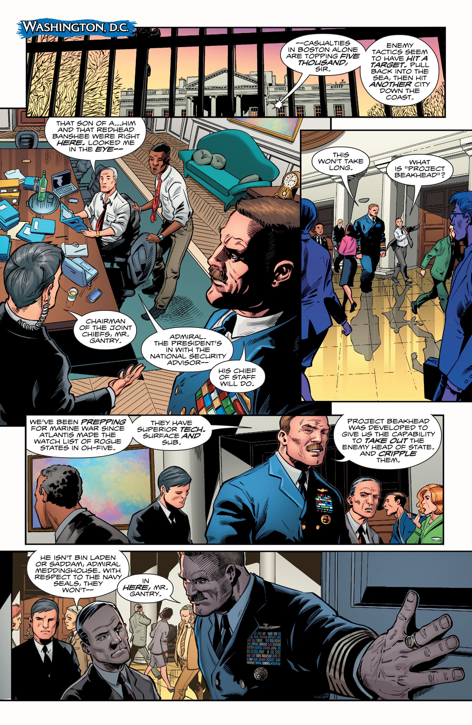 Read online Aquaman (2016) comic -  Issue #12 - 12