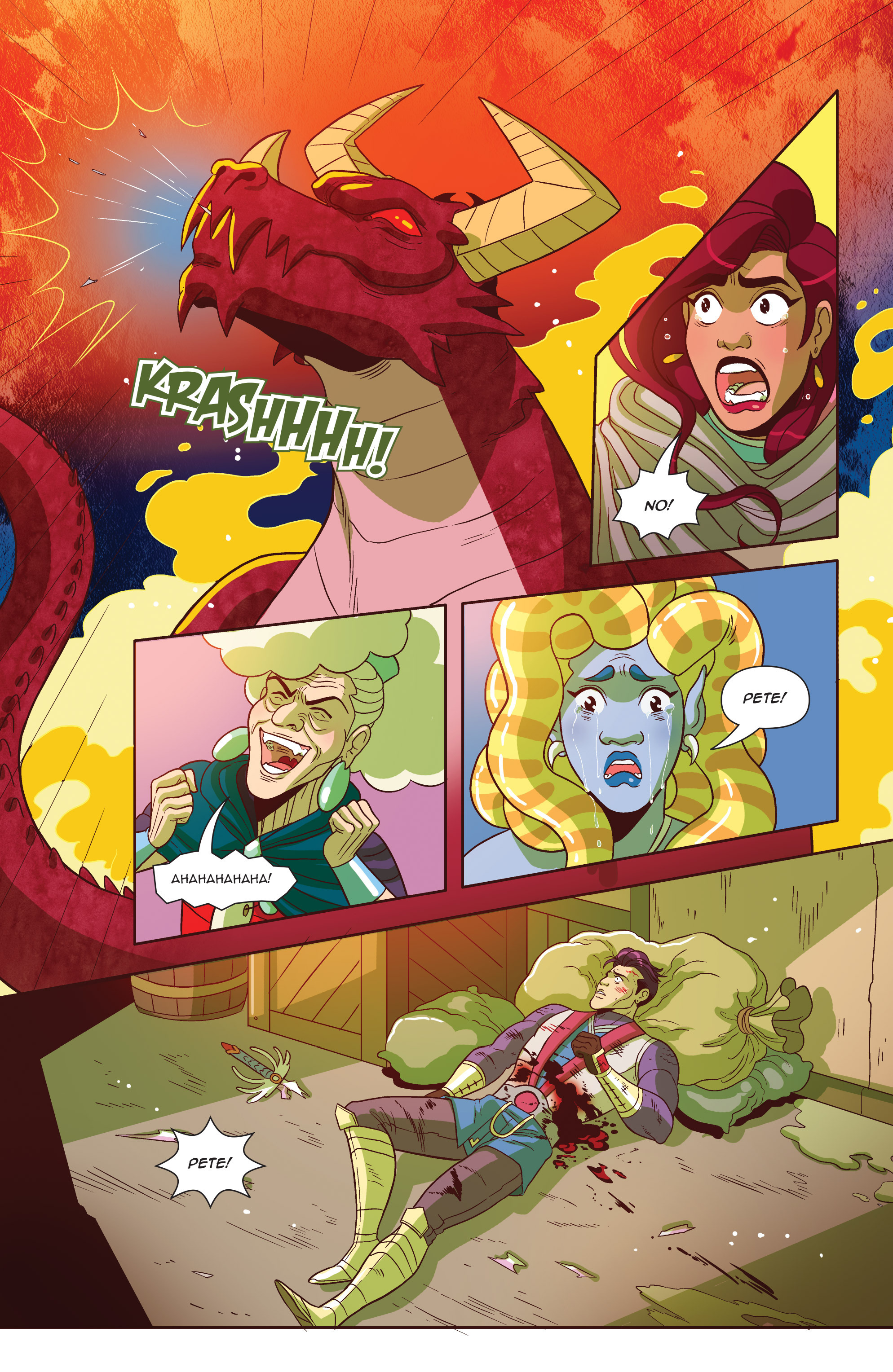 Read online Another Castle comic -  Issue #4 - 23