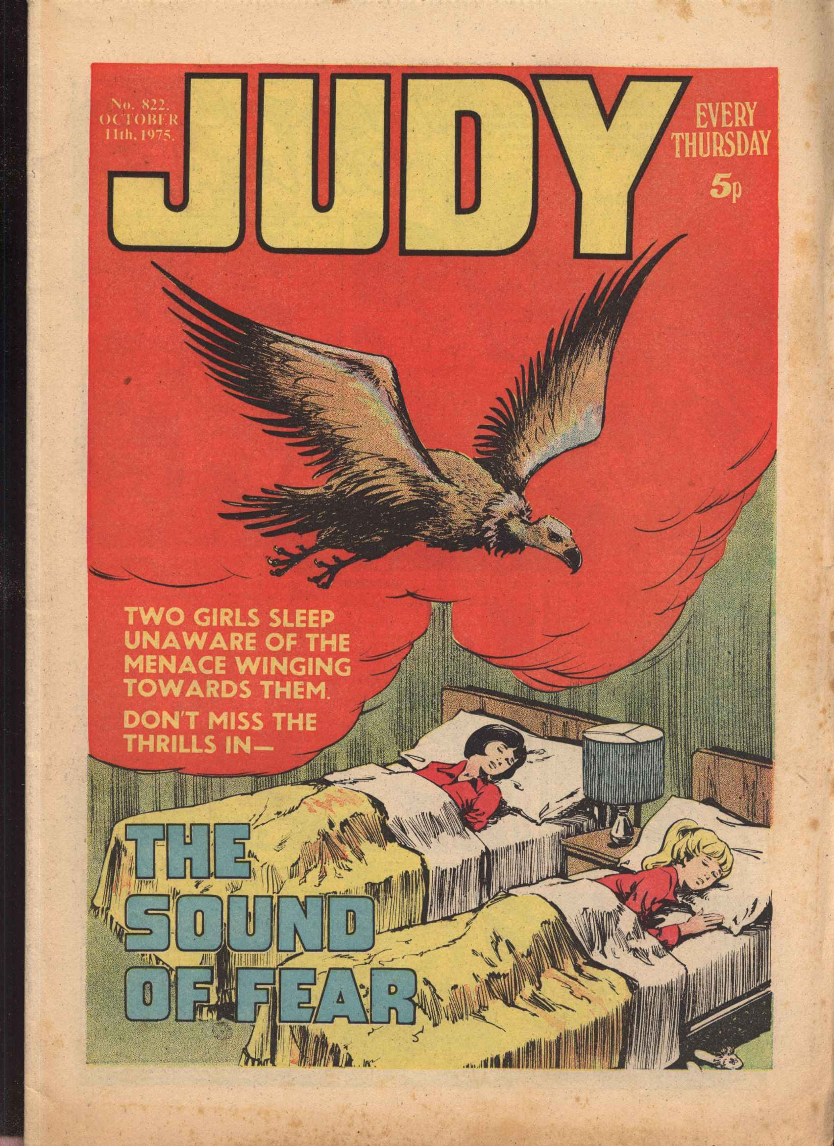 Read online Judy comic -  Issue #822 - 1