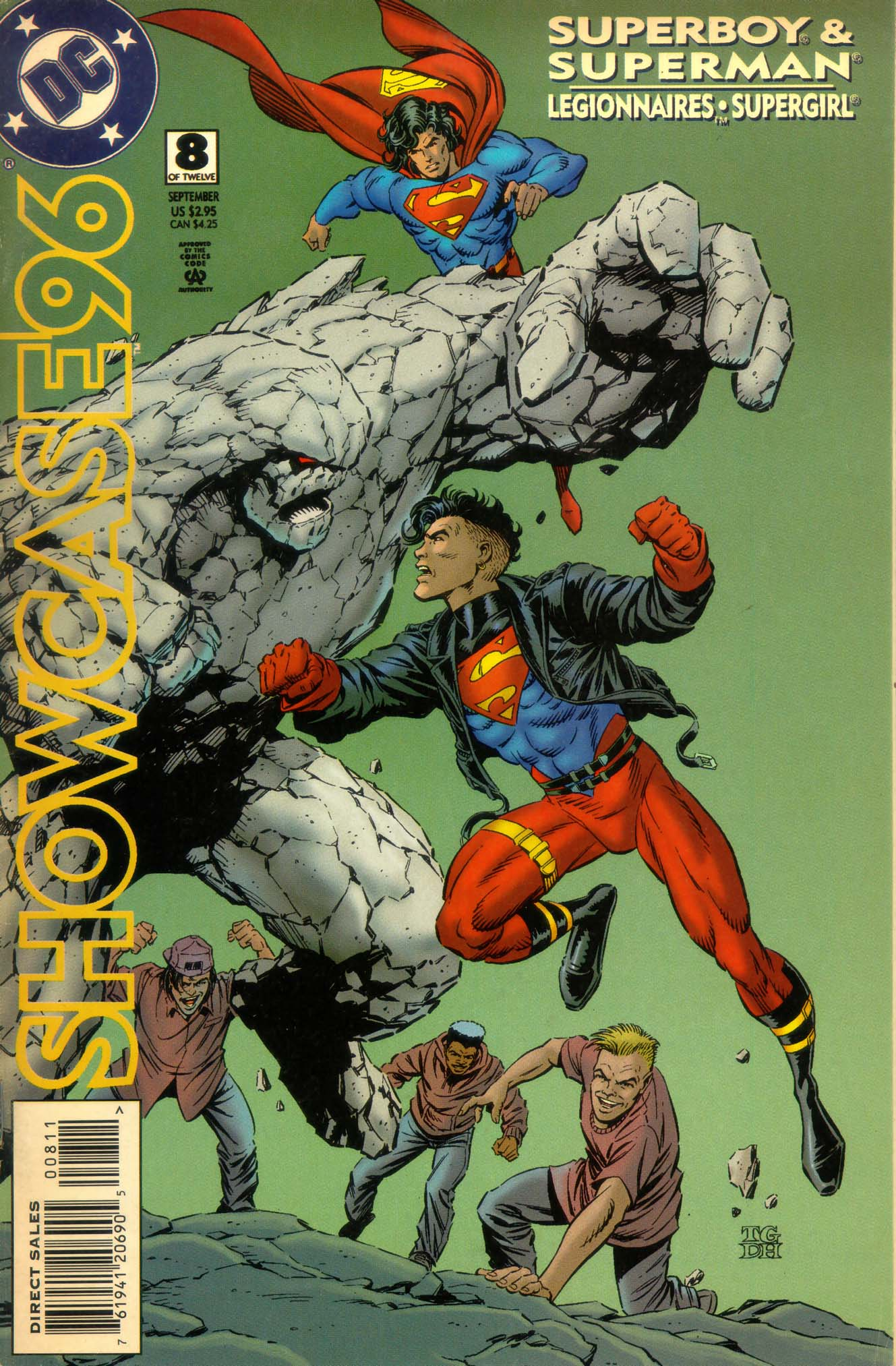 Read online Showcase '96 comic -  Issue #8 - 1