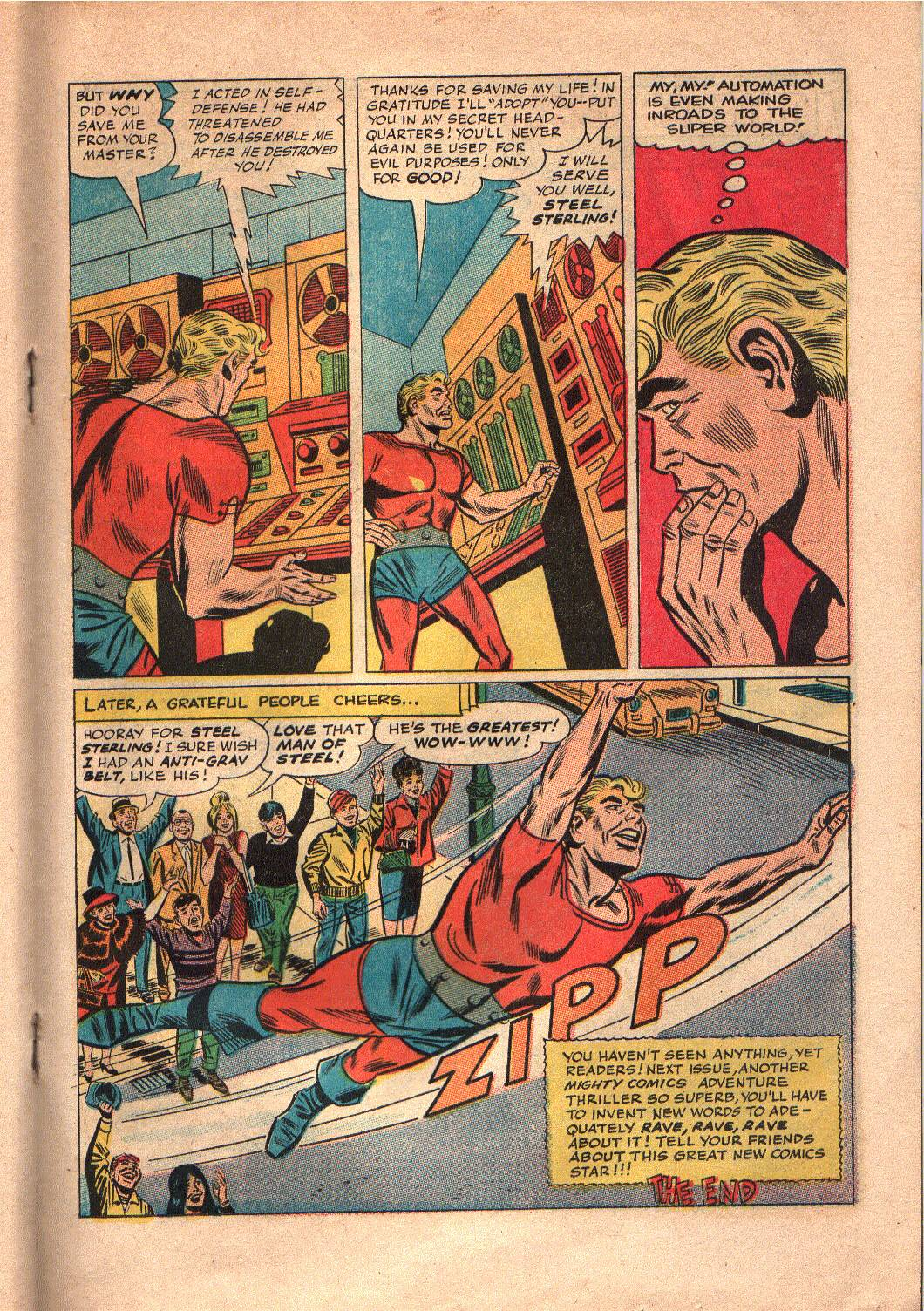 The Mighty Crusaders (1965) Issue #7 #7 - English 16