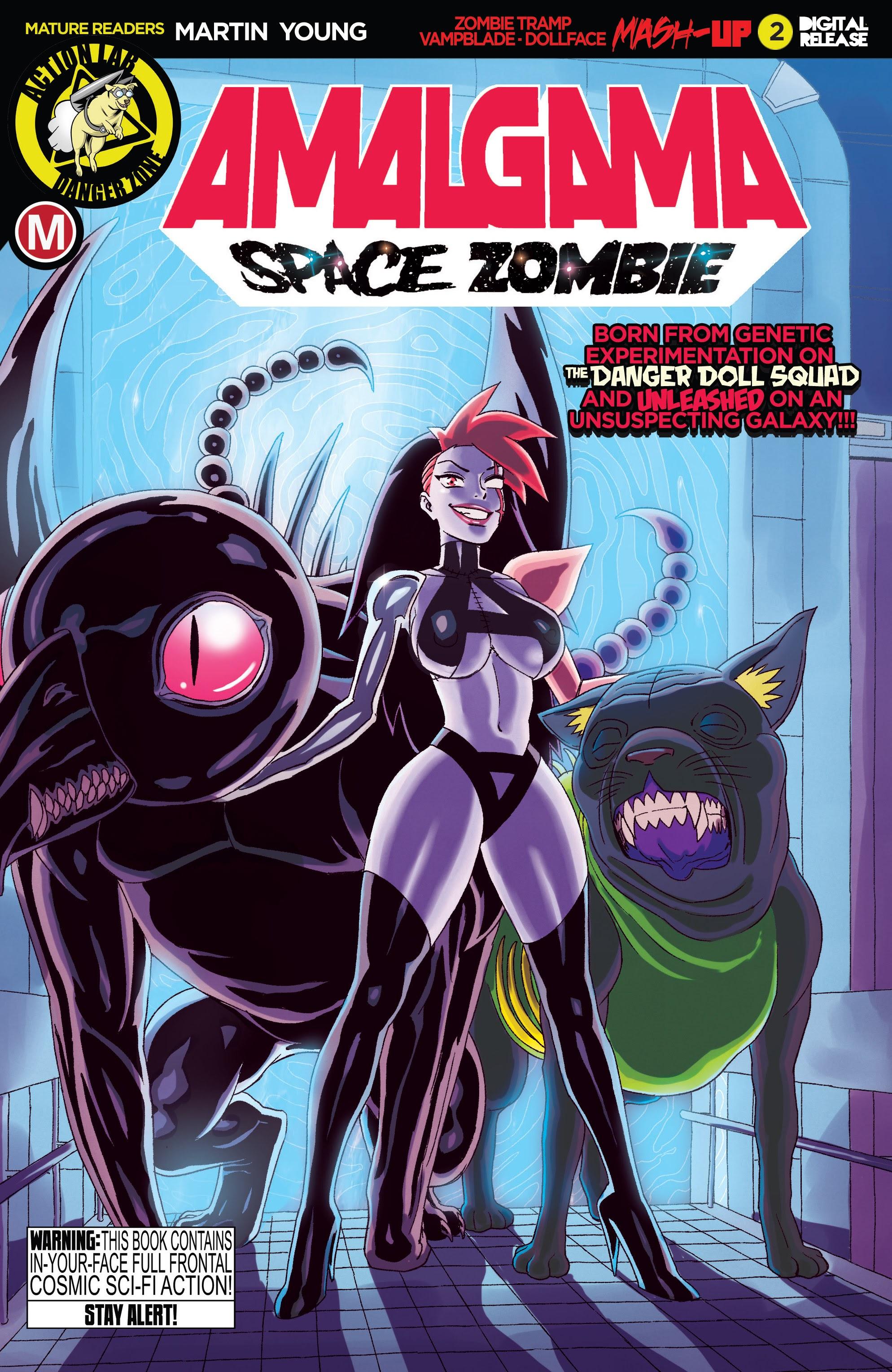 Amalgama: Space Zombie 2 Page 1
