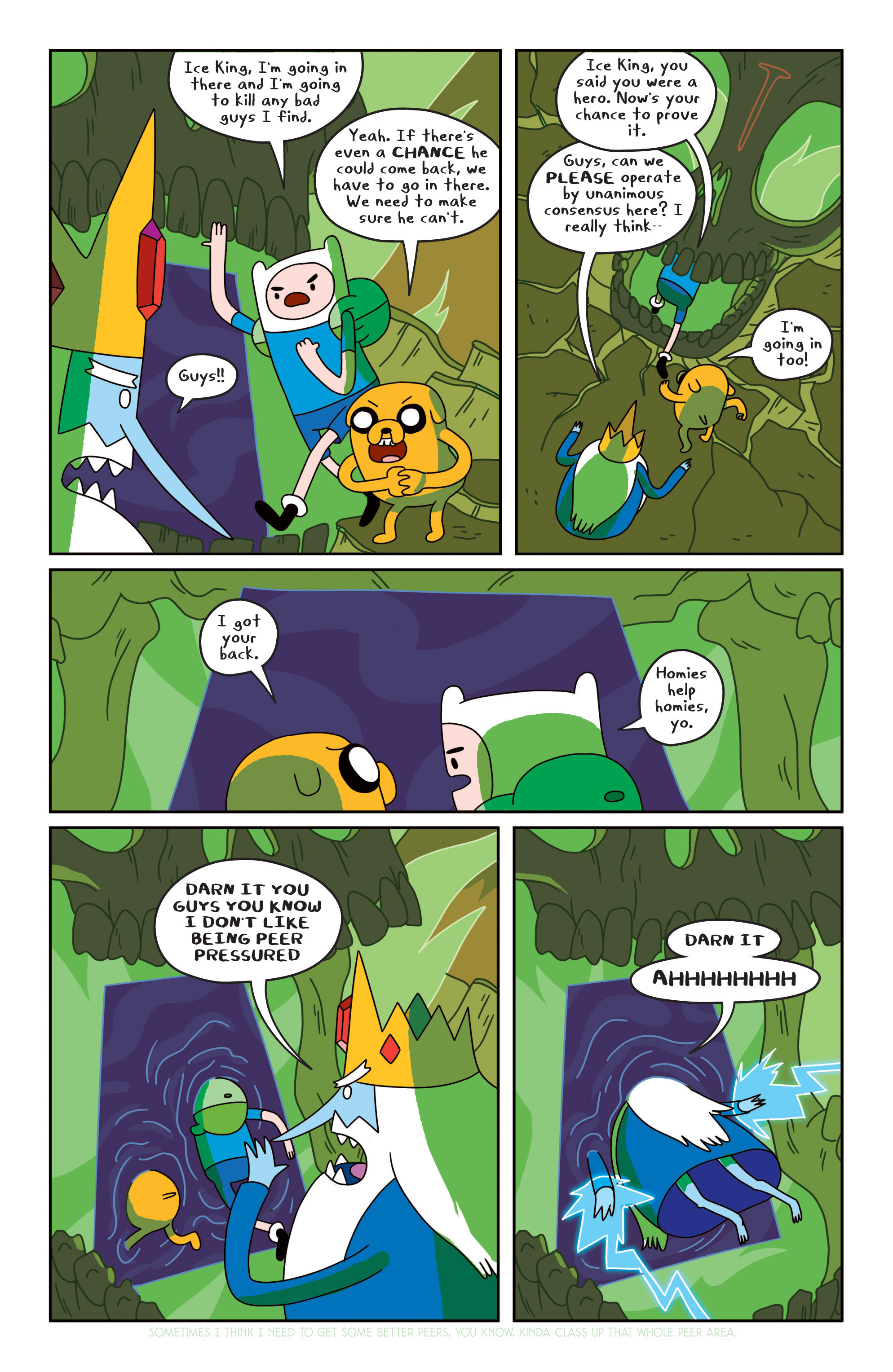Read online Adventure Time comic -  Issue #18 - 15