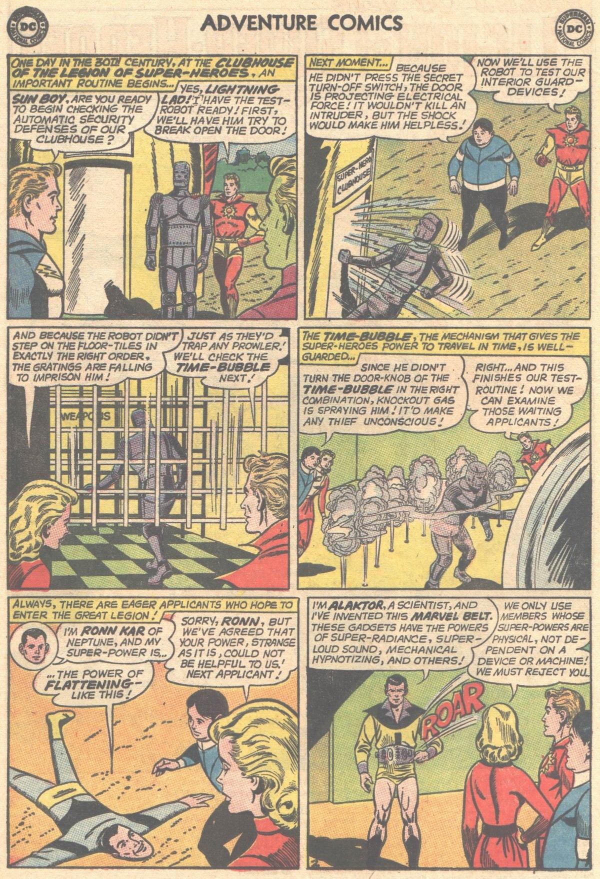 Read online Adventure Comics (1938) comic -  Issue #501 - 12