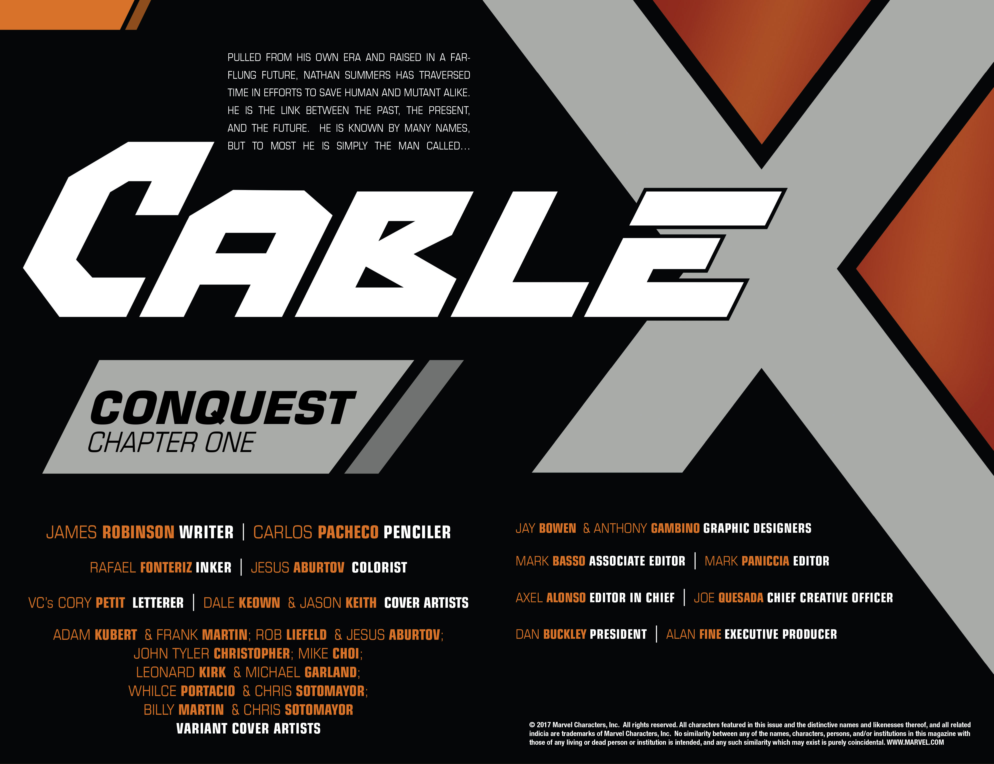 Read online Cable (2017) comic -  Issue #1 - 6