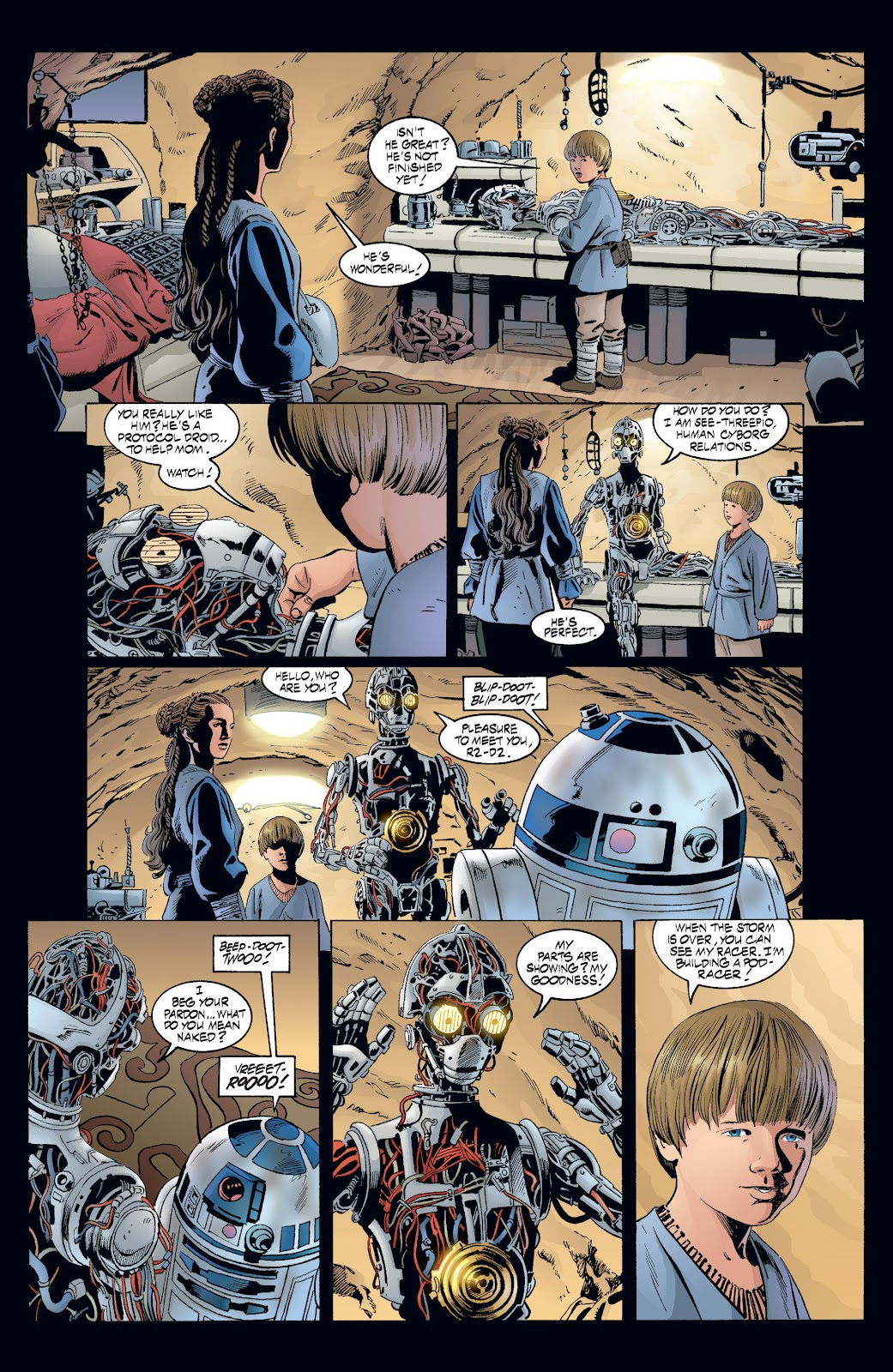 Read online Star Wars Legends: Rise of the Sith - Epic Collection comic -  Issue # TPB 2 (Part 3) - 73