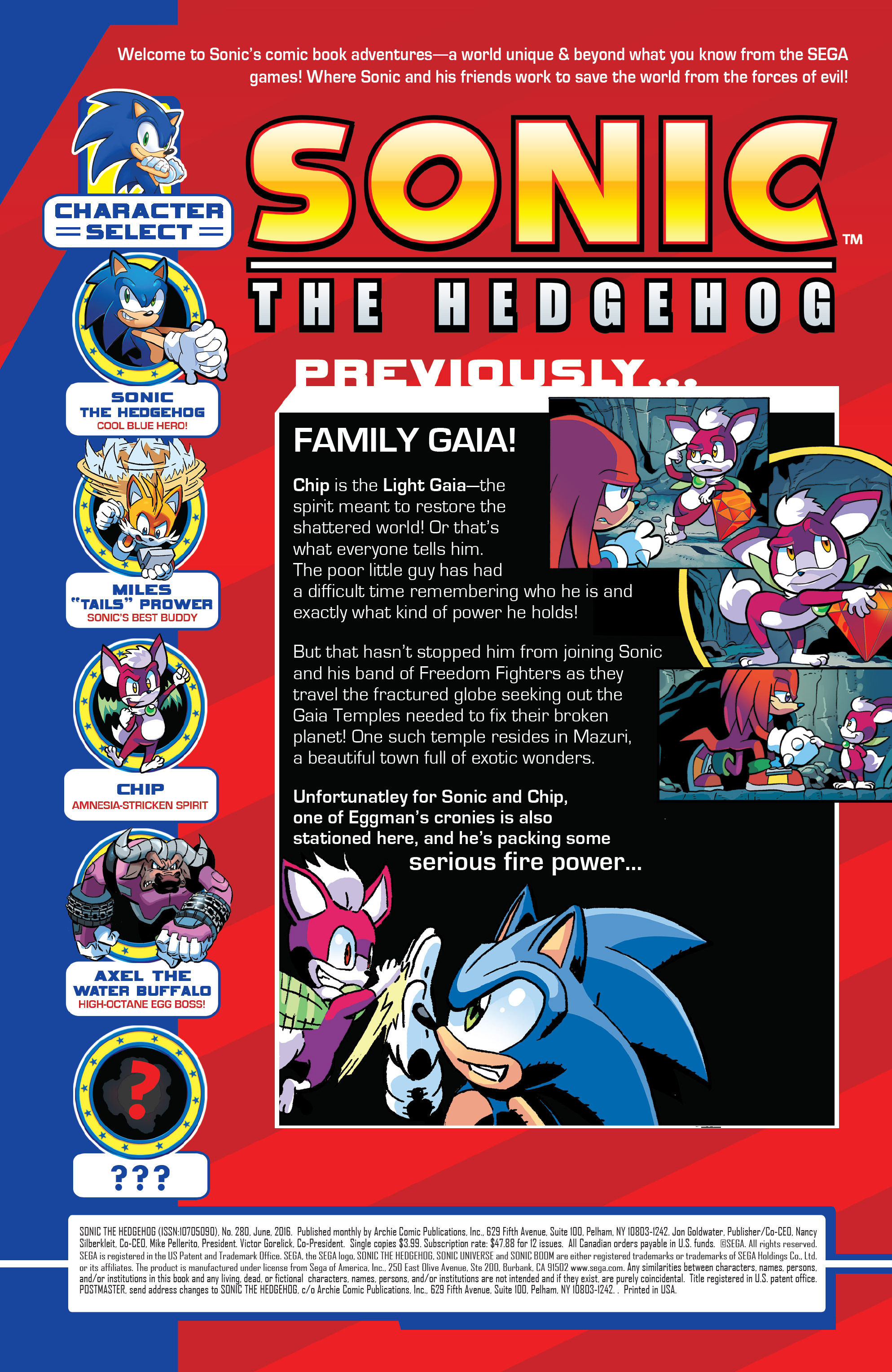 Read online Sonic The Hedgehog comic -  Issue #280 - 2