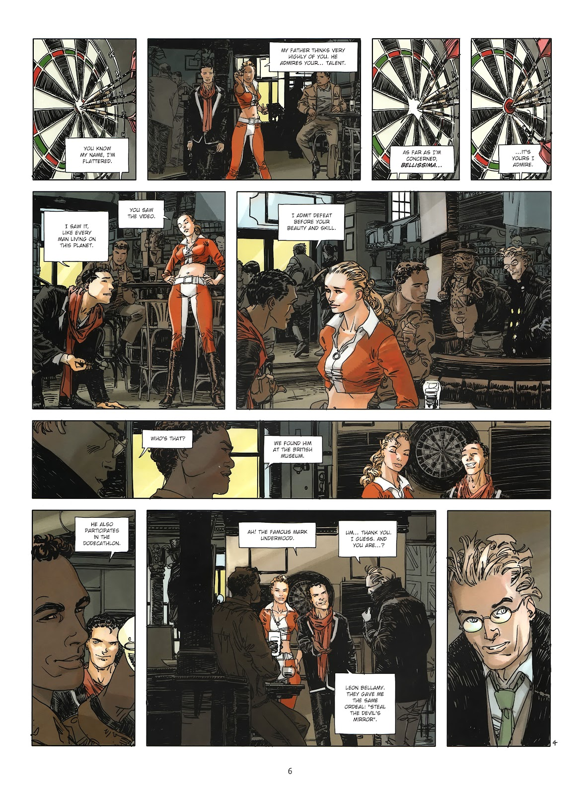 Read online Cutting Edge (2013) comic -  Issue #3 - 6
