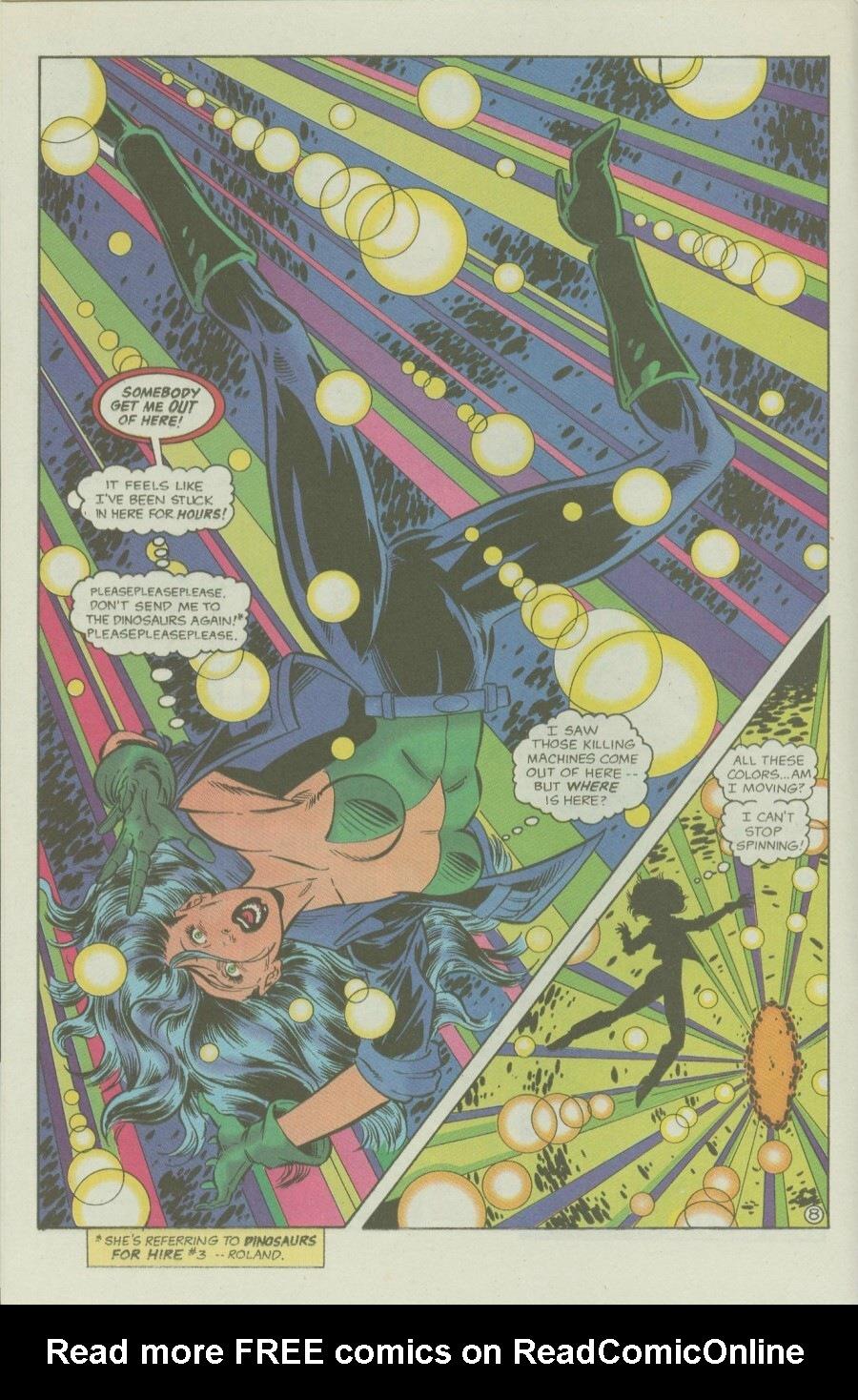 Read online Ex-Mutants comic -  Issue #6 - 10