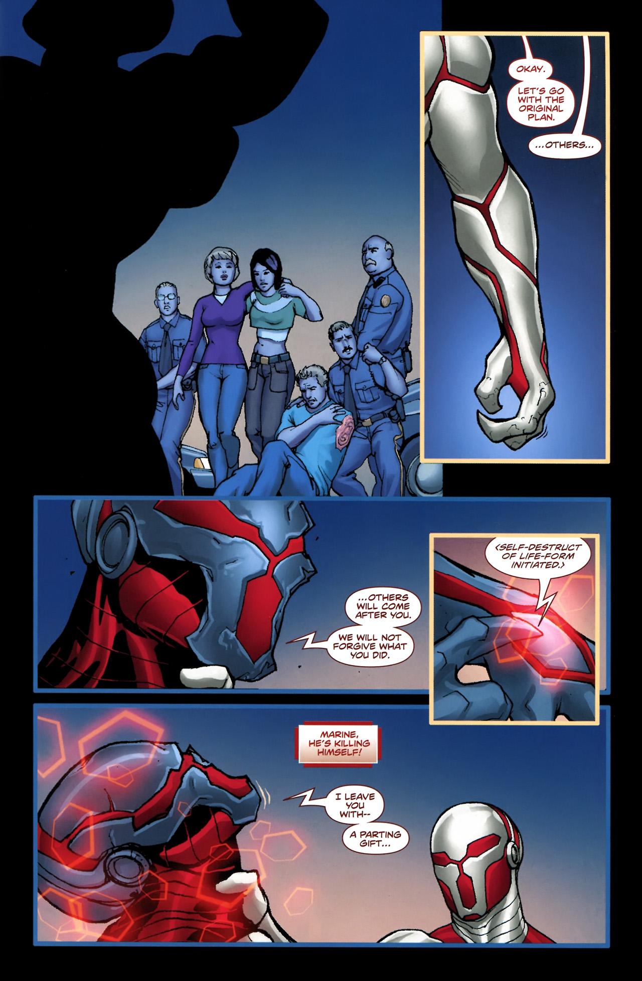 Read online Soldier Zero comic -  Issue #4 - 25